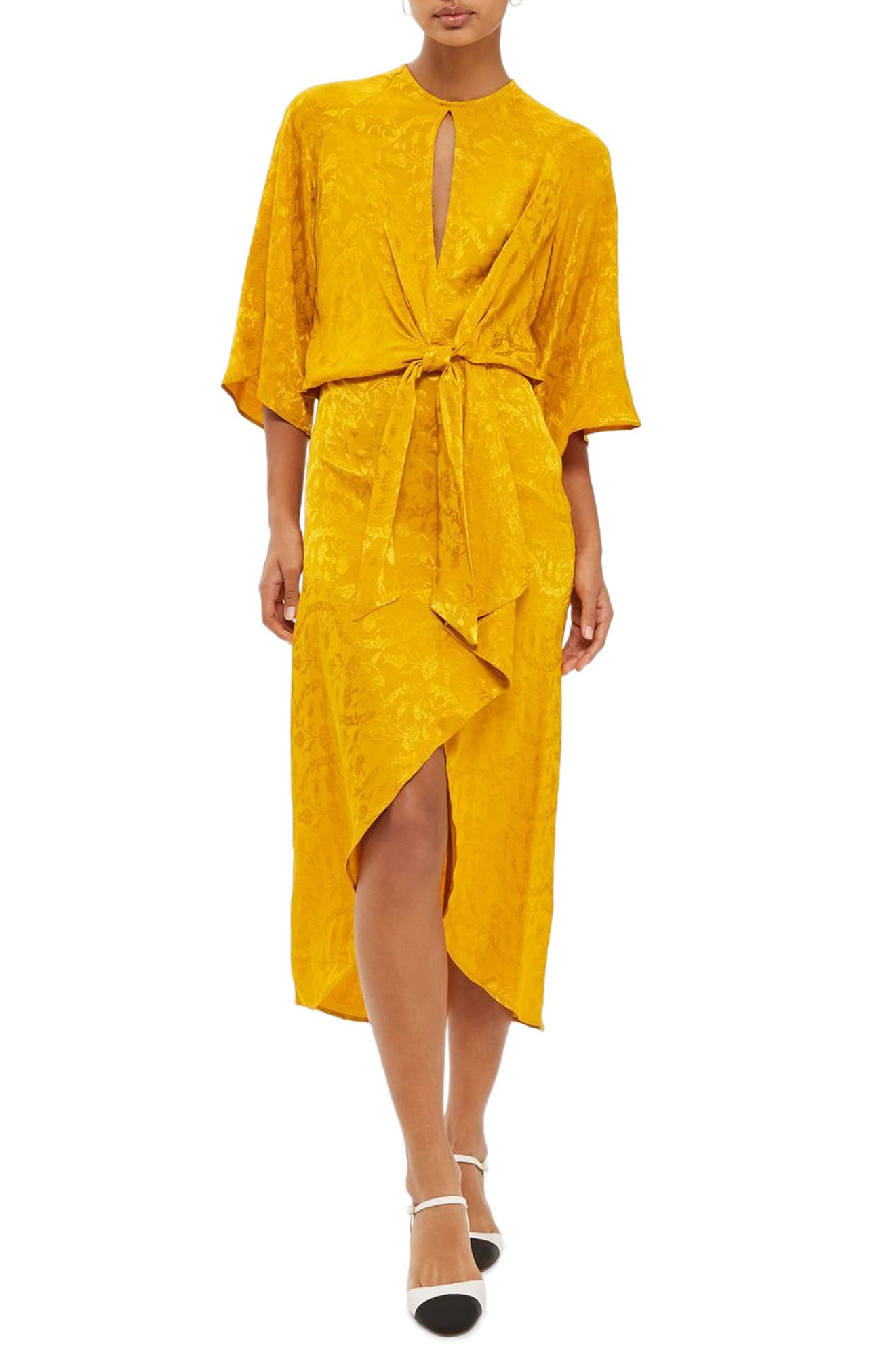 Yellow nordstrom dress