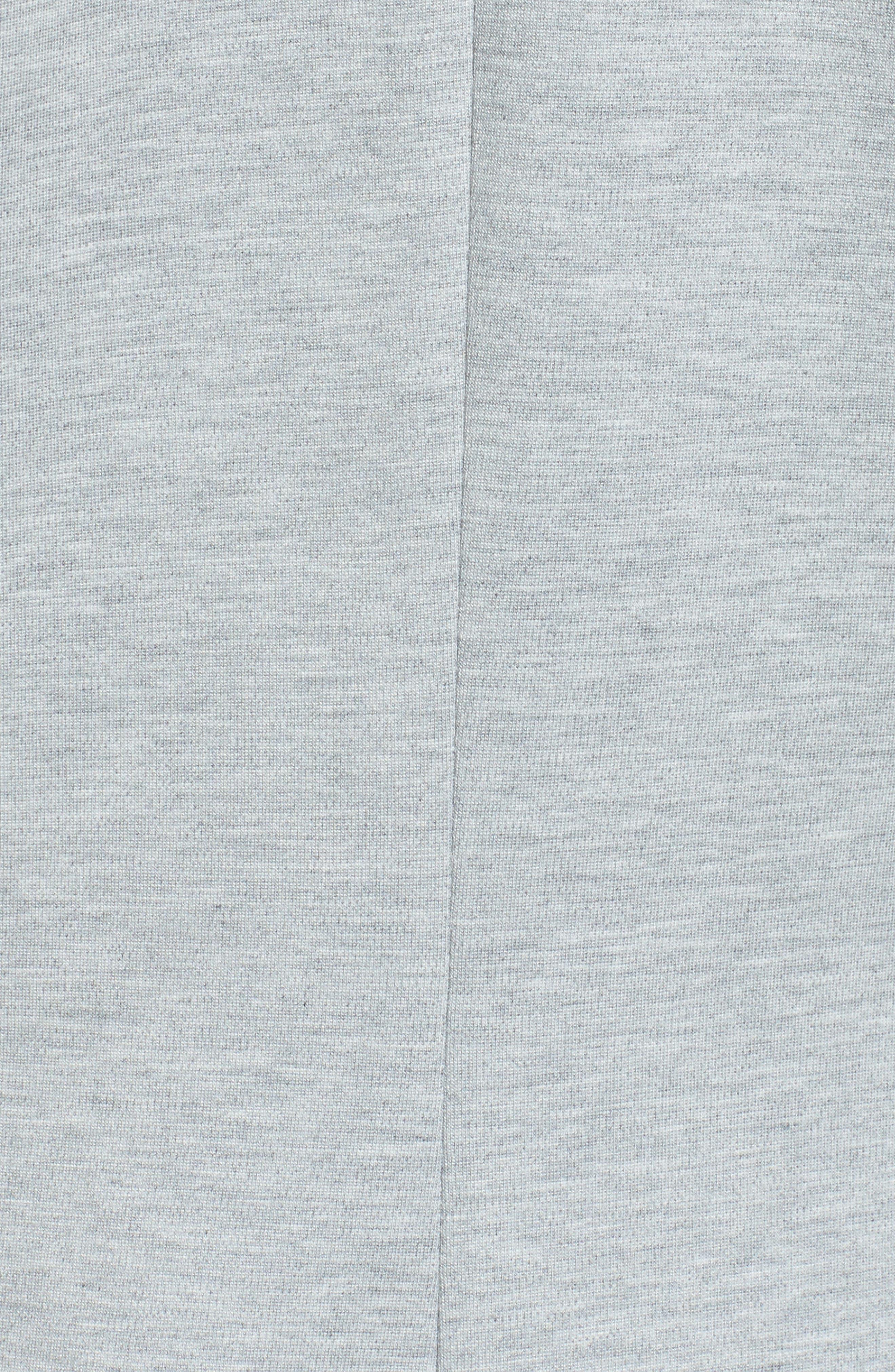 Alternate Image 5  - Halogon® Roll Sleeve Ponte Blazer