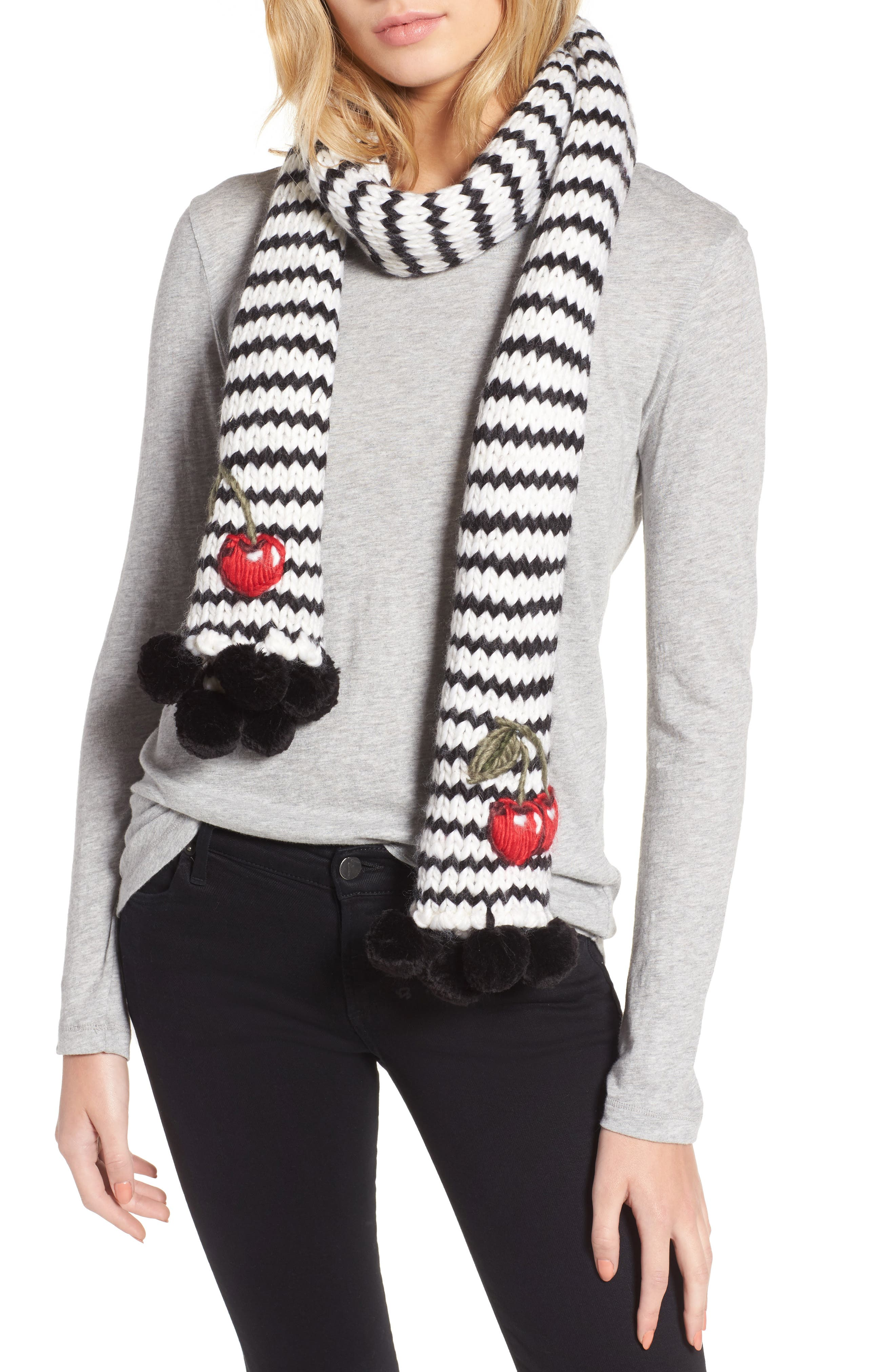Alternate Image 1 Selected - kate spade new york ma cherie muffler