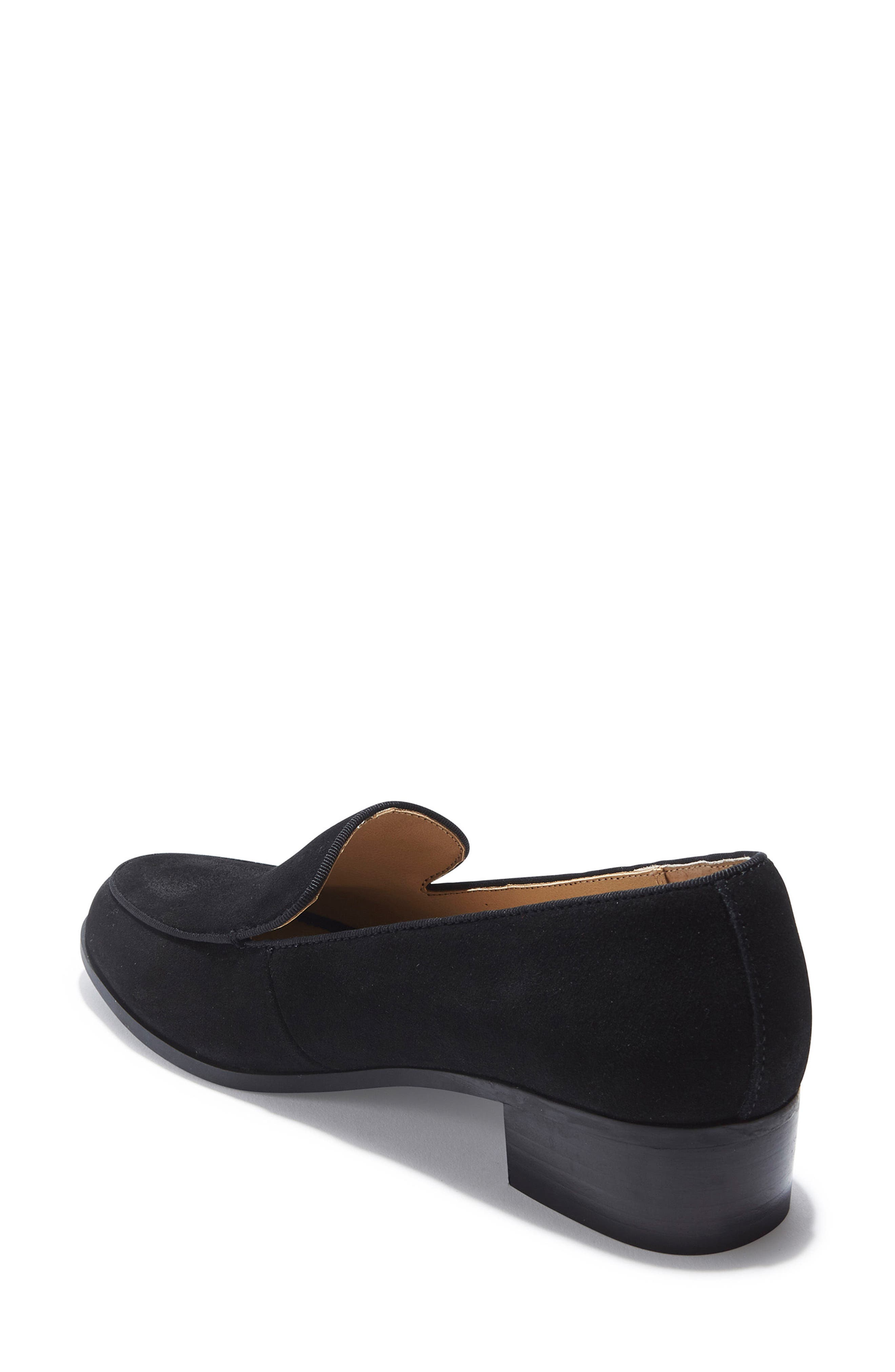 Jazzy Loafer,                             Alternate thumbnail 2, color,                             Black Suede
