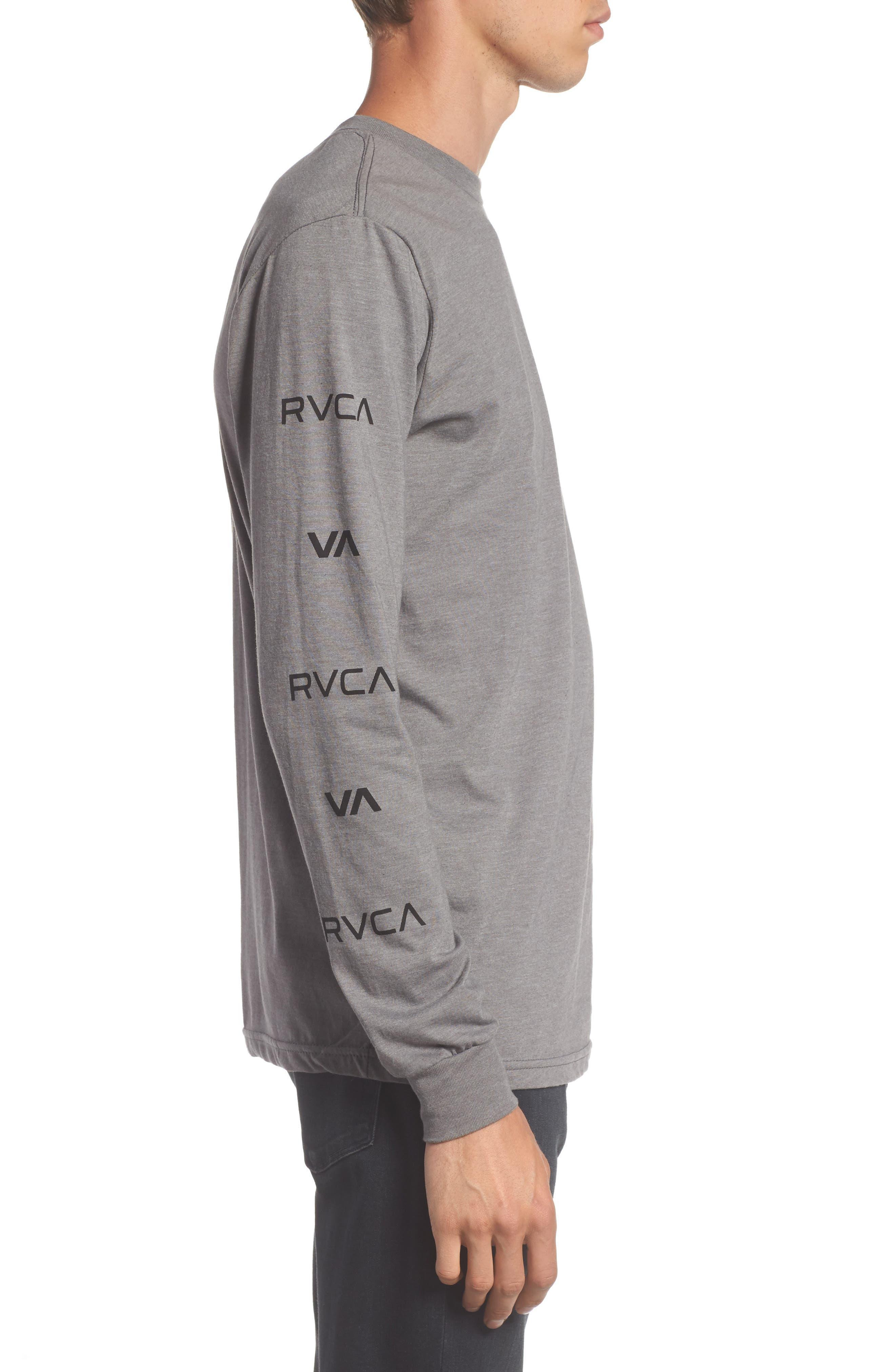 Alternate Image 3  - RVCA Brand Stack Graphic T-Shirt