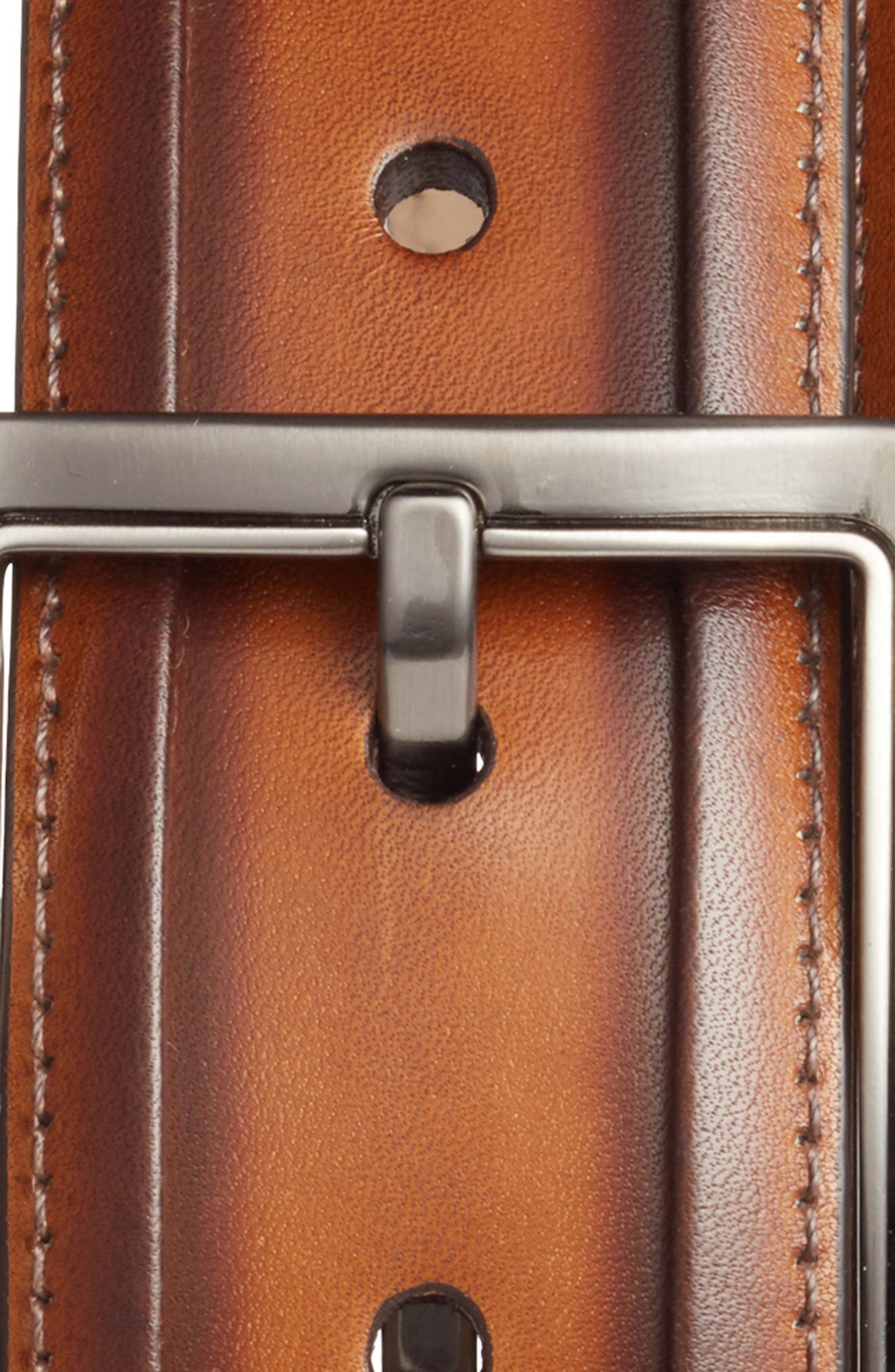 Palma Leather Belt,                             Alternate thumbnail 2, color,                             Honey