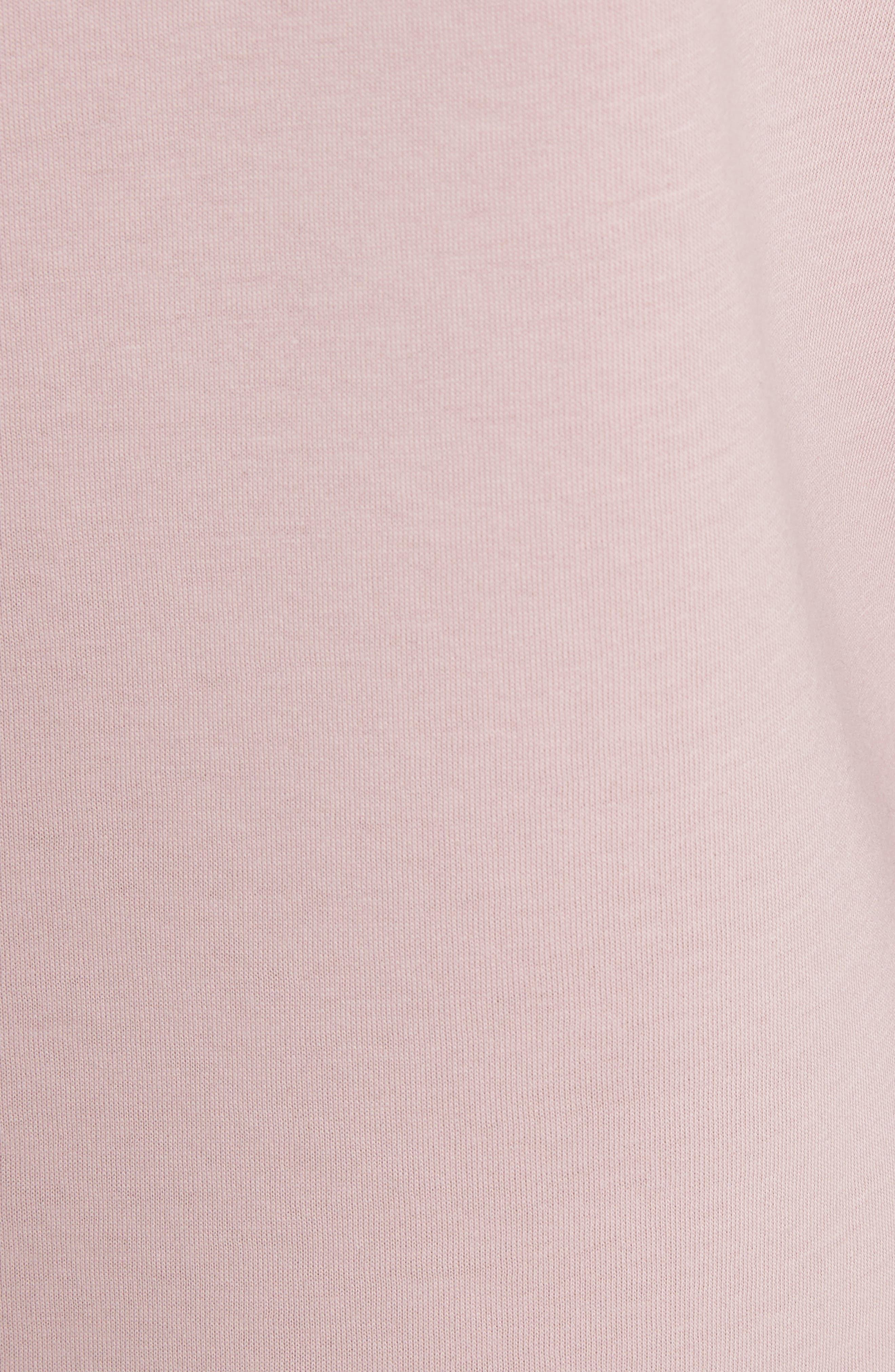 Orcher Full Sleeve Sweatshirt,                             Alternate thumbnail 5, color,                             Dusky Pink