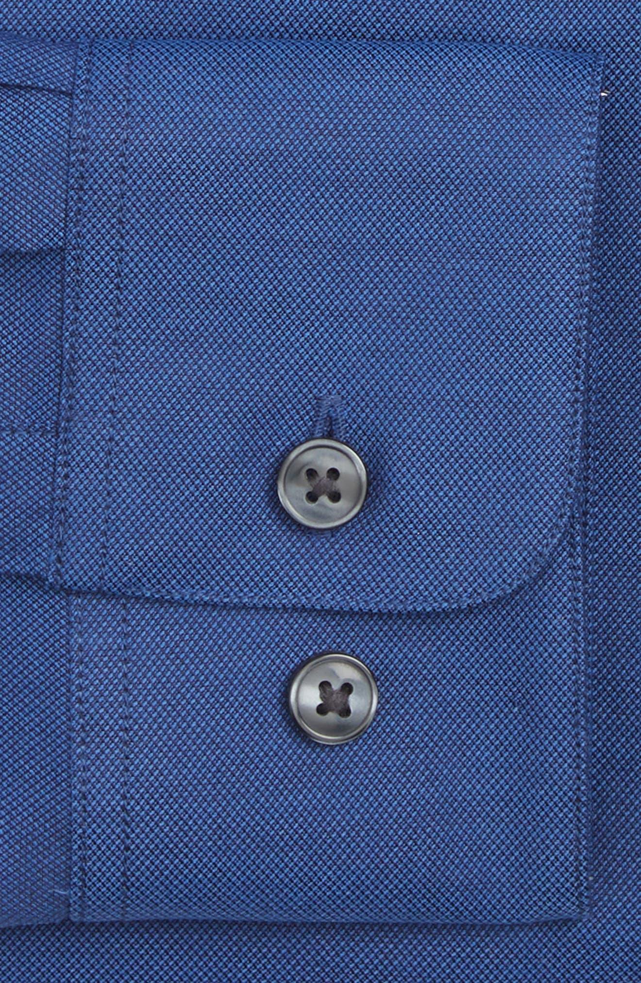 Alternate Image 2  - John Varvatos Star USA Slim Fit Solid Dress Shirt