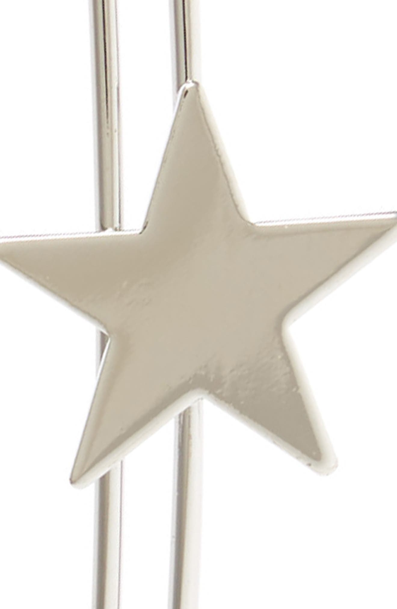 Accessory Collective Metal Star Headband,                             Alternate thumbnail 2, color,                             Silver