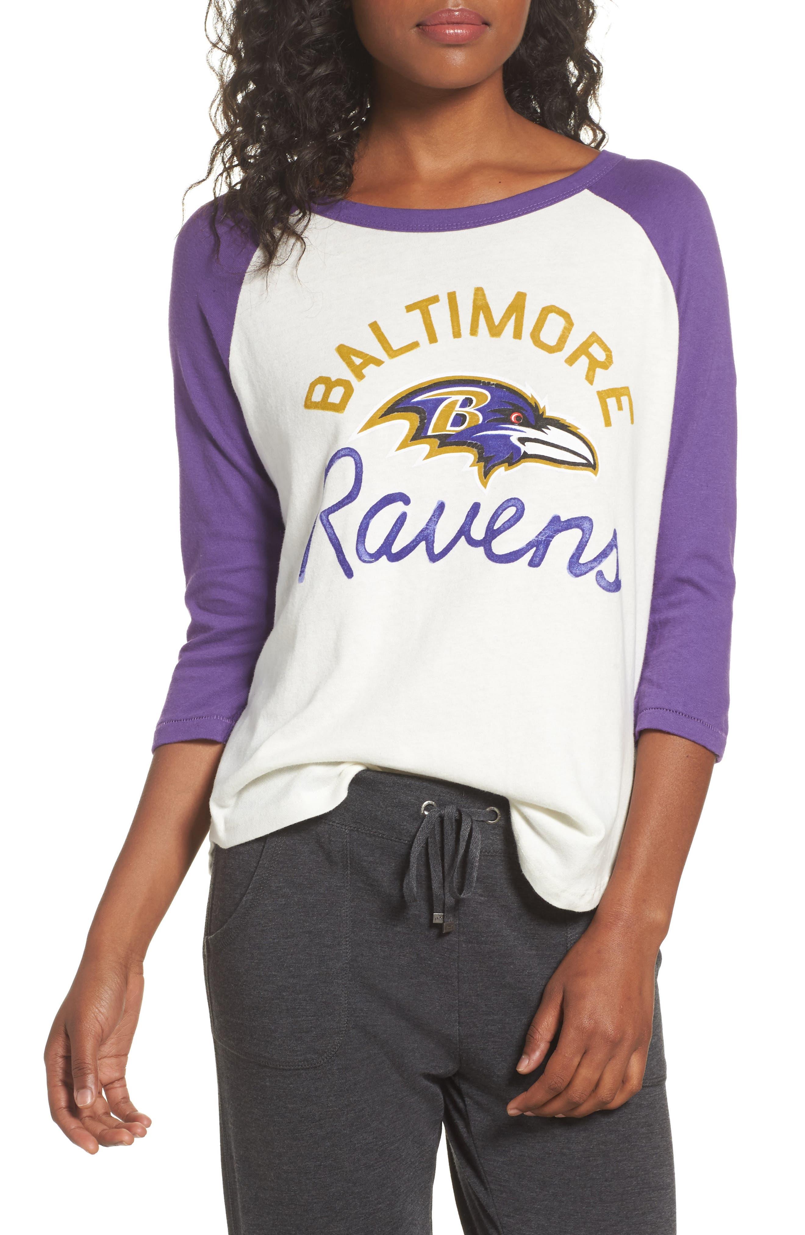 Main Image - Junk Food NFL Baltimore Ravens Raglan Tee