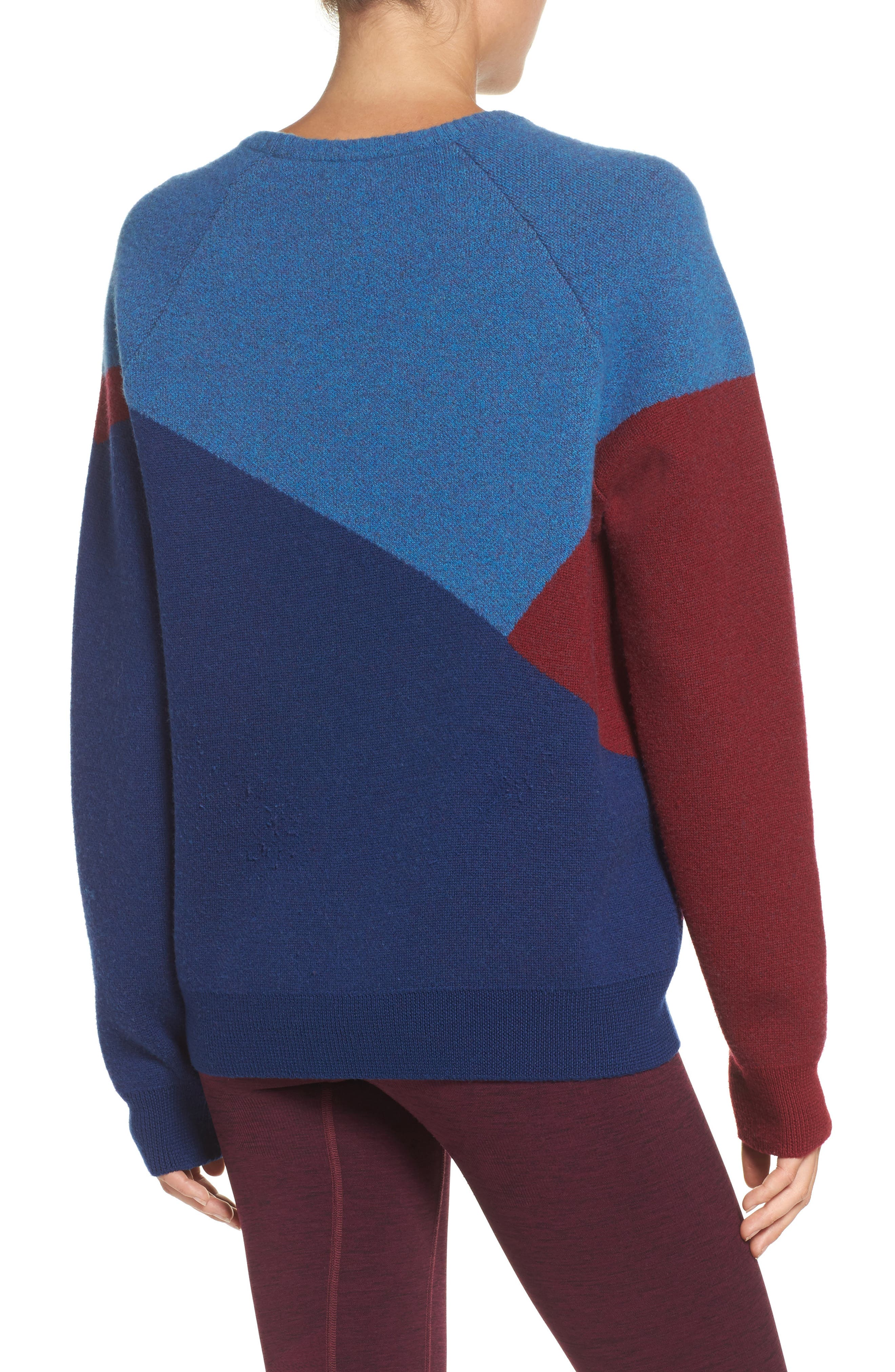 Winter Waterboy Sweater,                             Alternate thumbnail 2, color,                             Burgundy