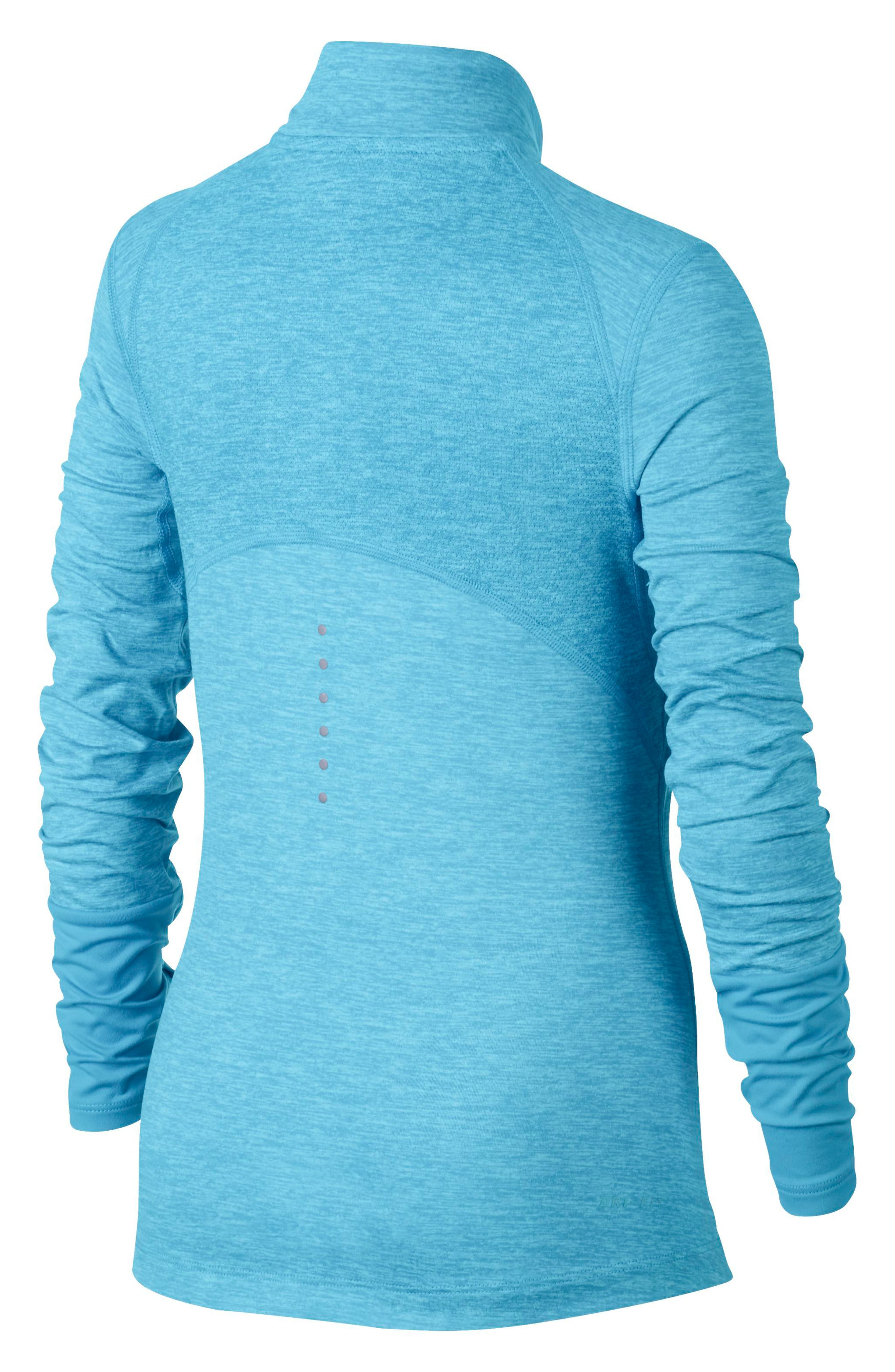 Alternate Image 2  - Nike Dry Element Running Top (Big Girls)