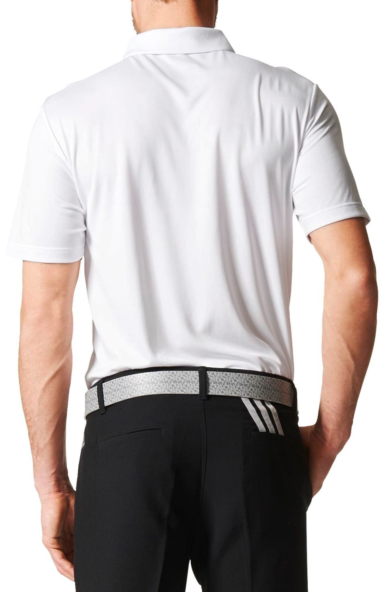 Alternate Image 2  - adidas Chest Stripe Golf Polo