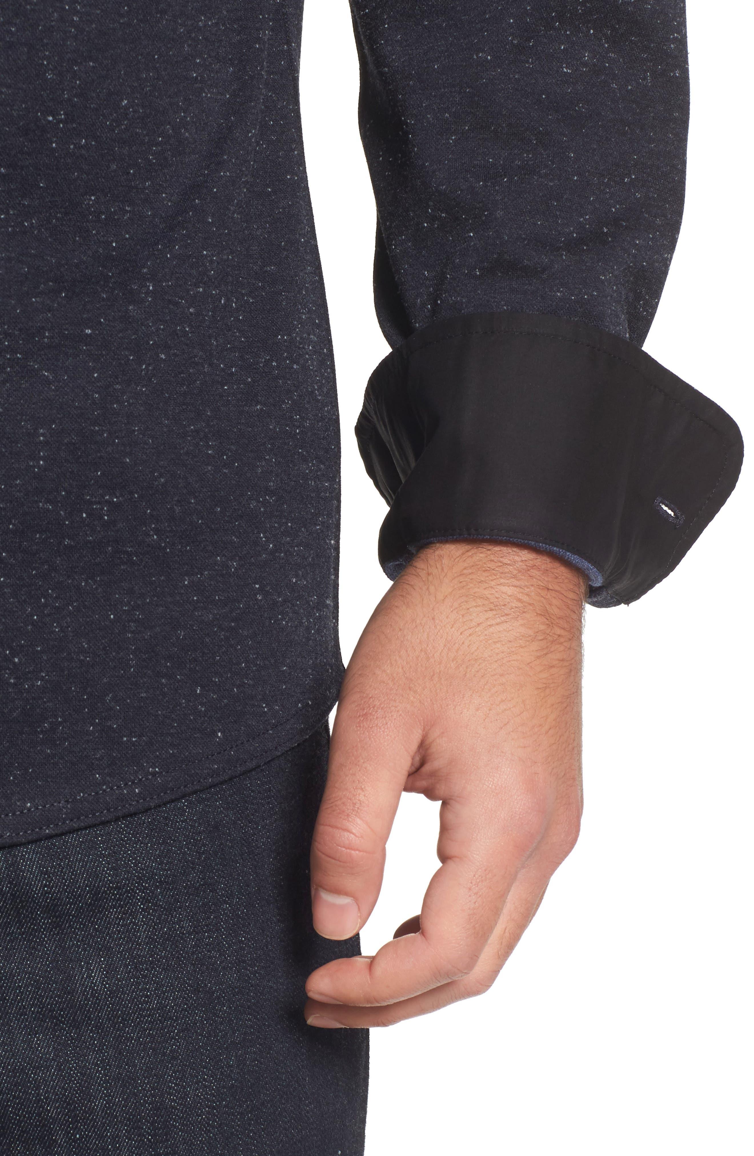 Alternate Image 4  - Nordstrom Men's Shop Knit Sport Shirt