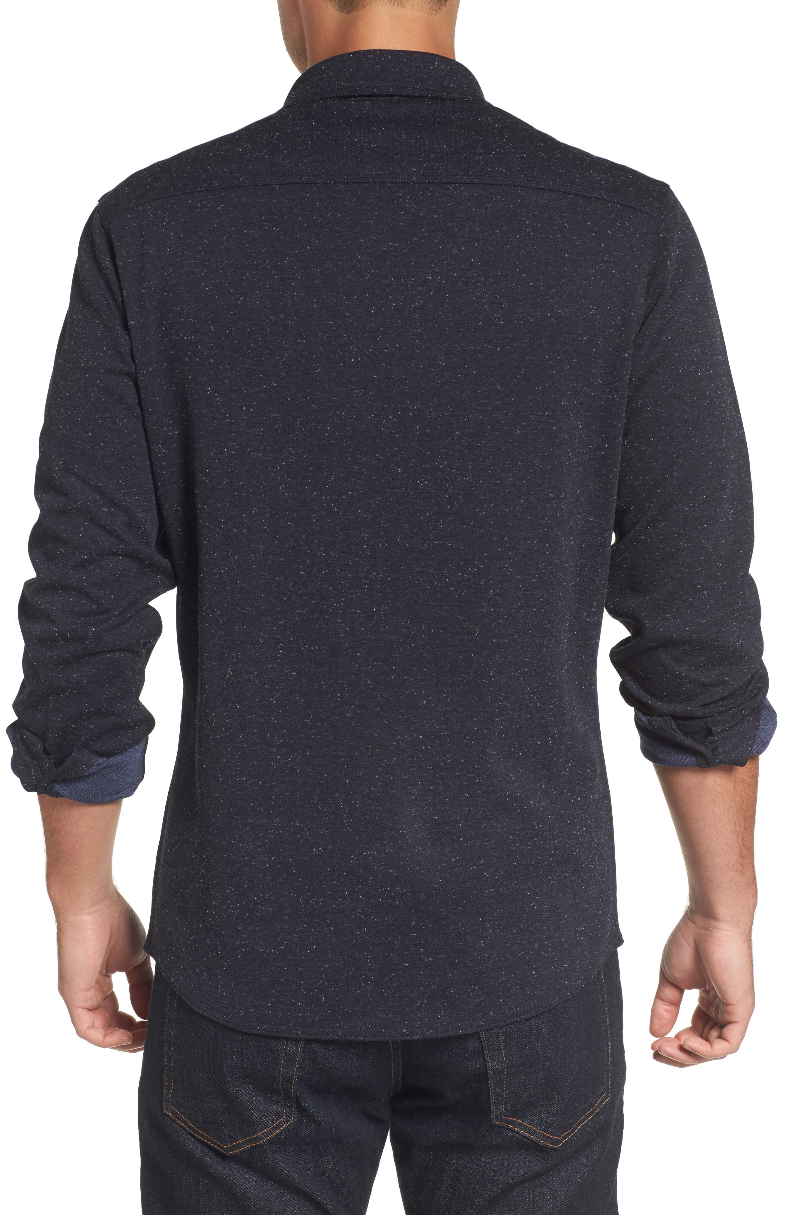 Alternate Image 2  - Nordstrom Men's Shop Knit Sport Shirt