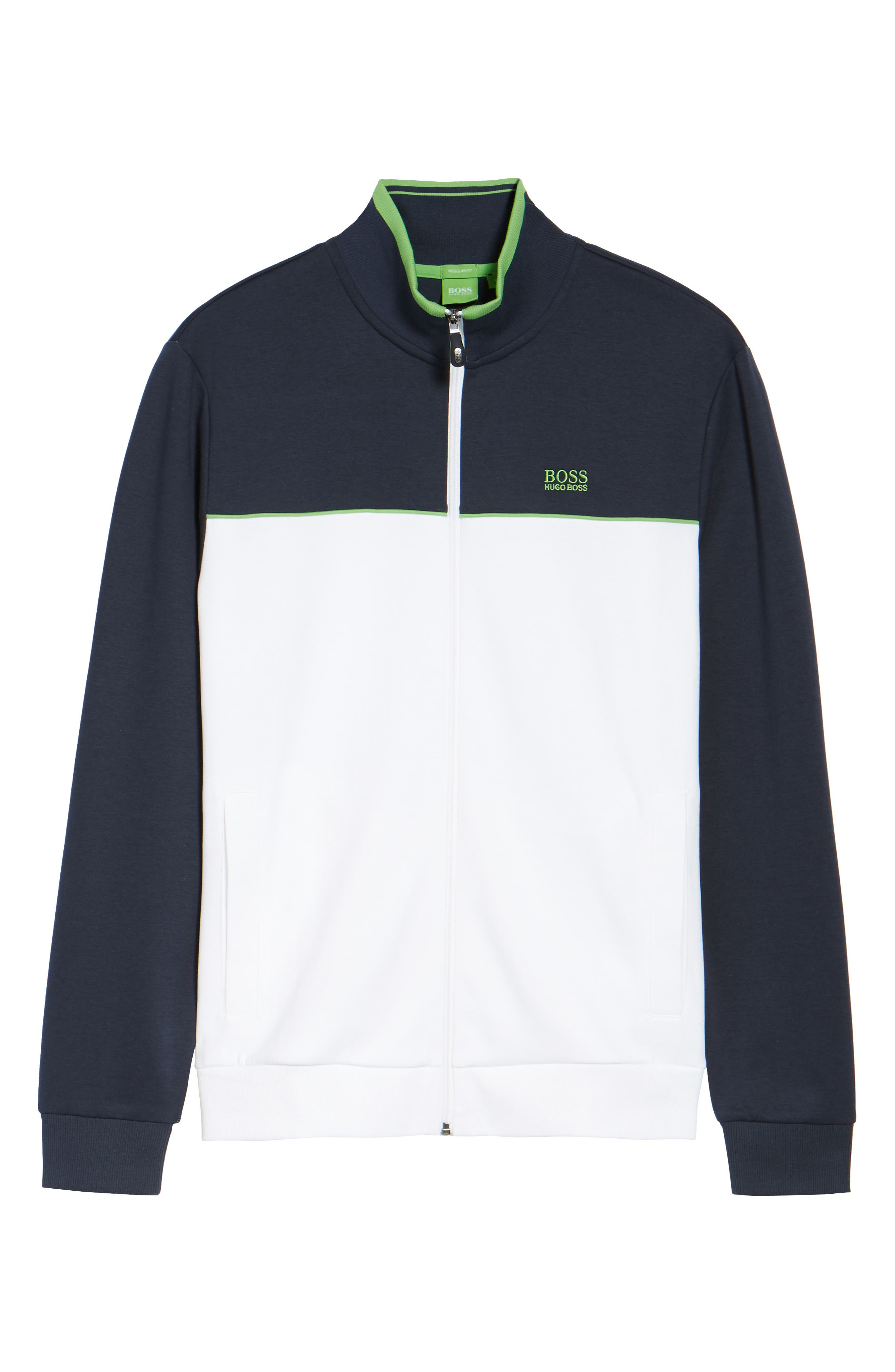 Alternate Image 5  - BOSS Green Skaz Full Zip Fleece Jacket