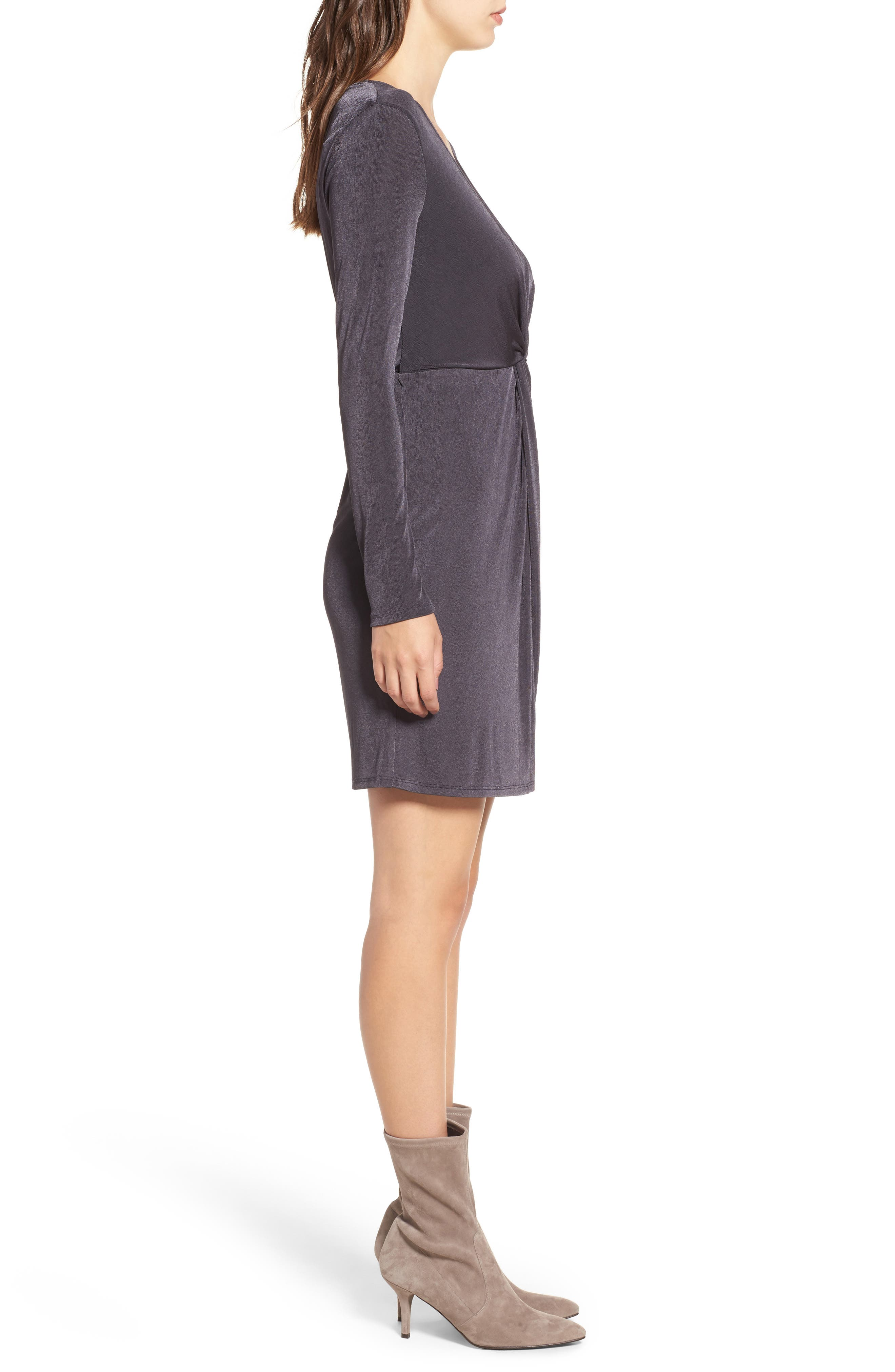 Alternate Image 3  - STOREE Twist Front Knit Dress
