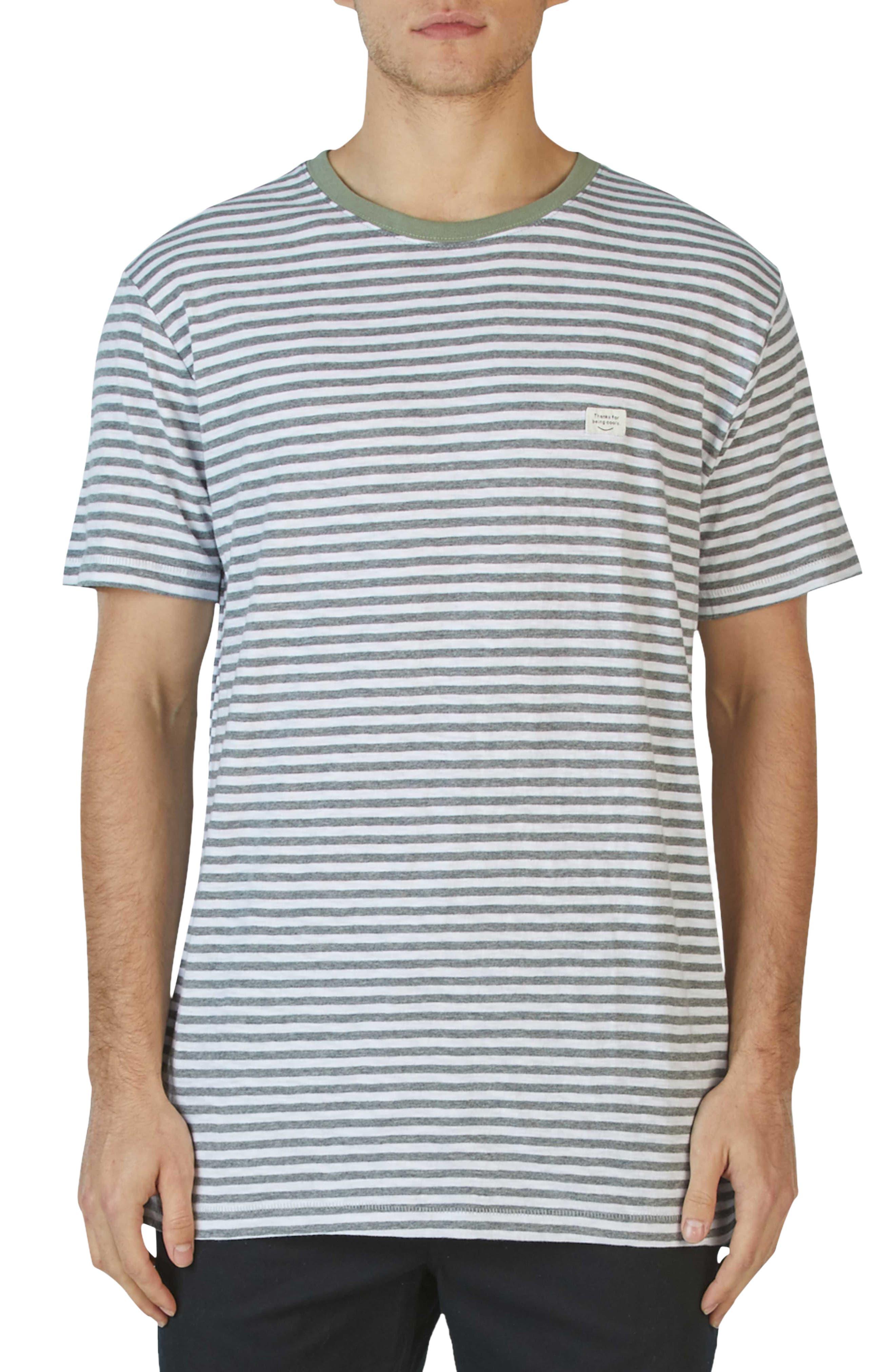 Barney Cools B. Thankful Striped T-Shirt