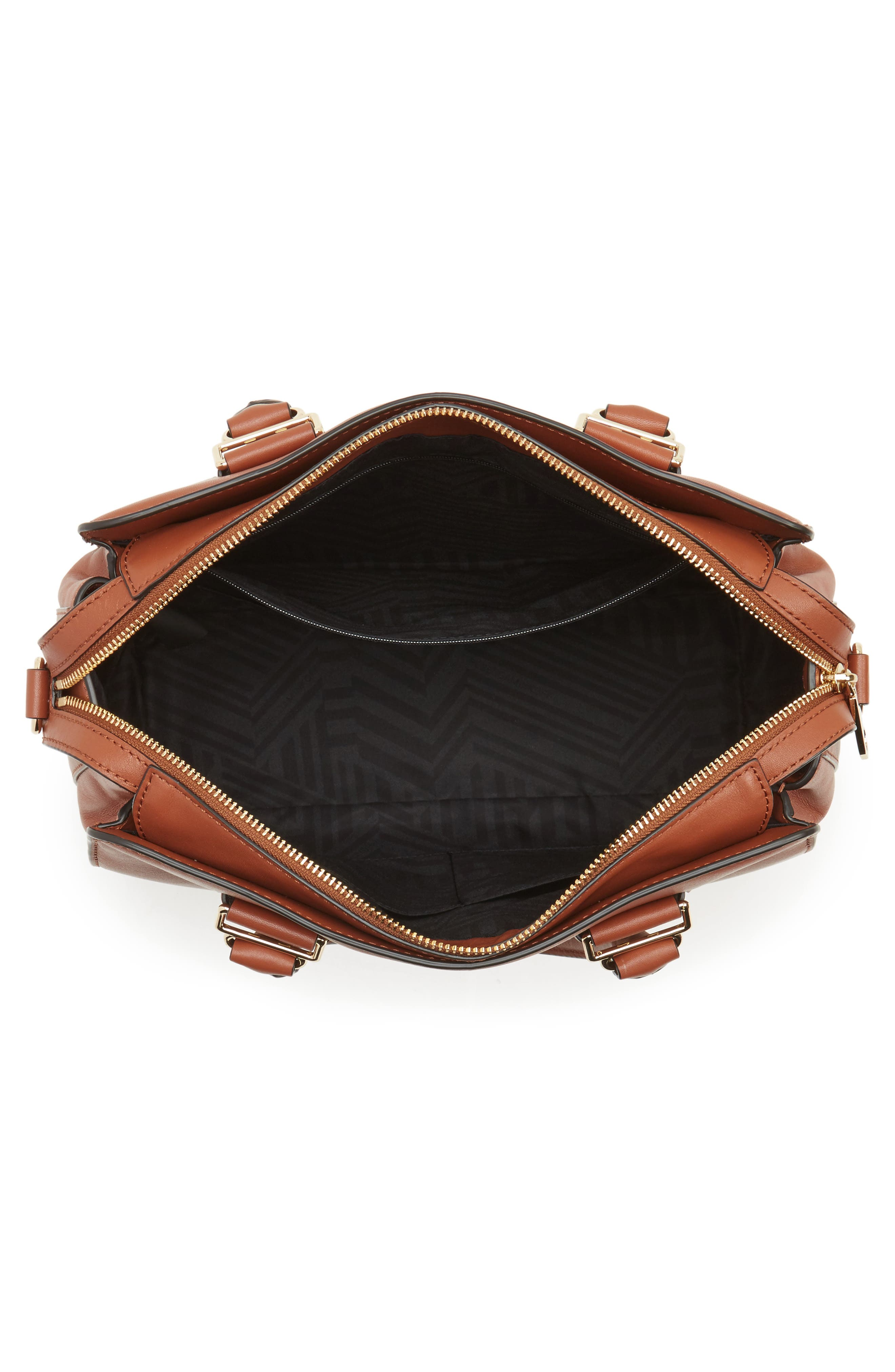 Midnighter Leather Work Tote,                             Alternate thumbnail 4, color,                             Almond