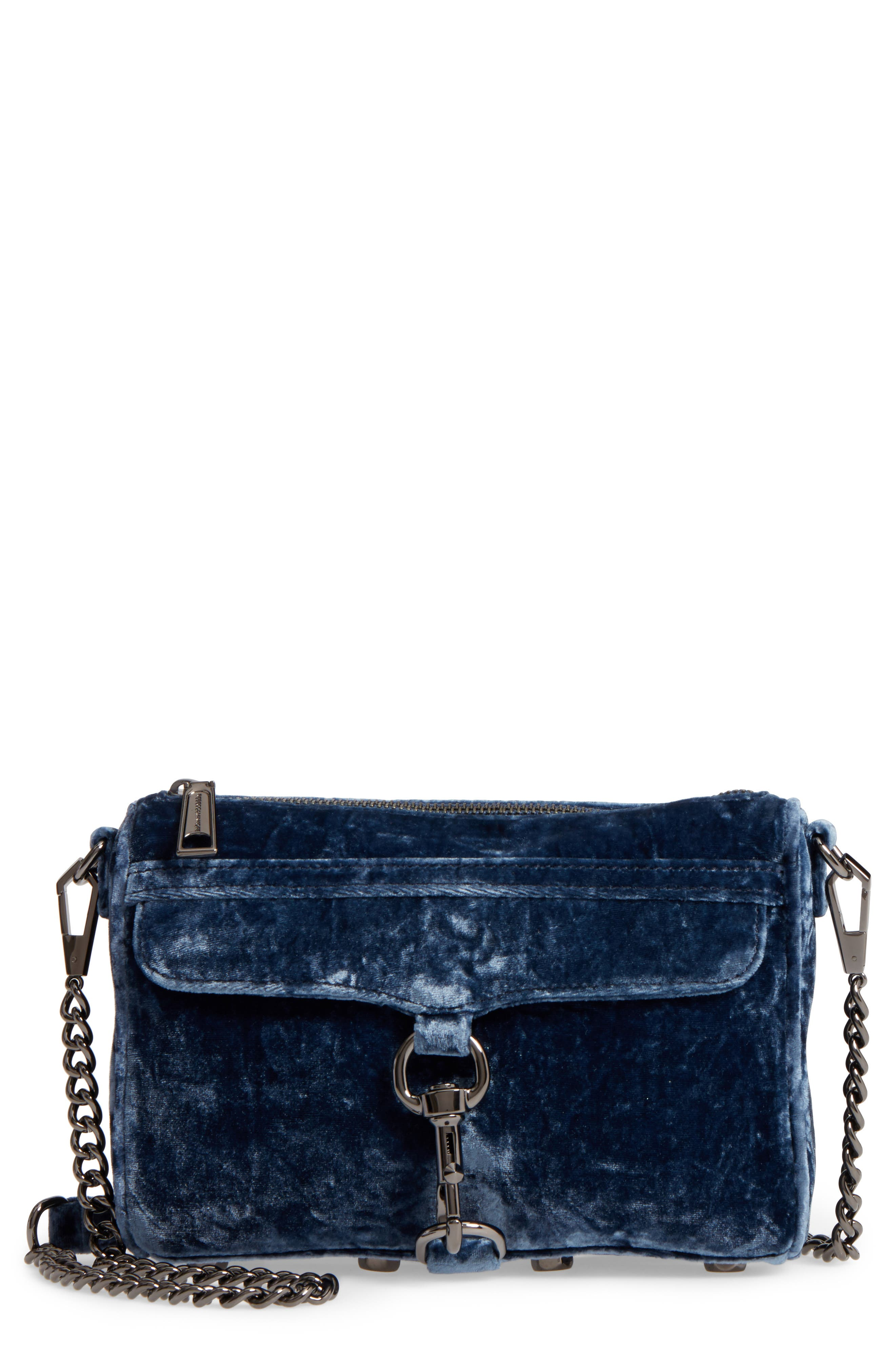 REBECCA MINKOFF Mini MAC Velvet Convertible Crossbody Bag