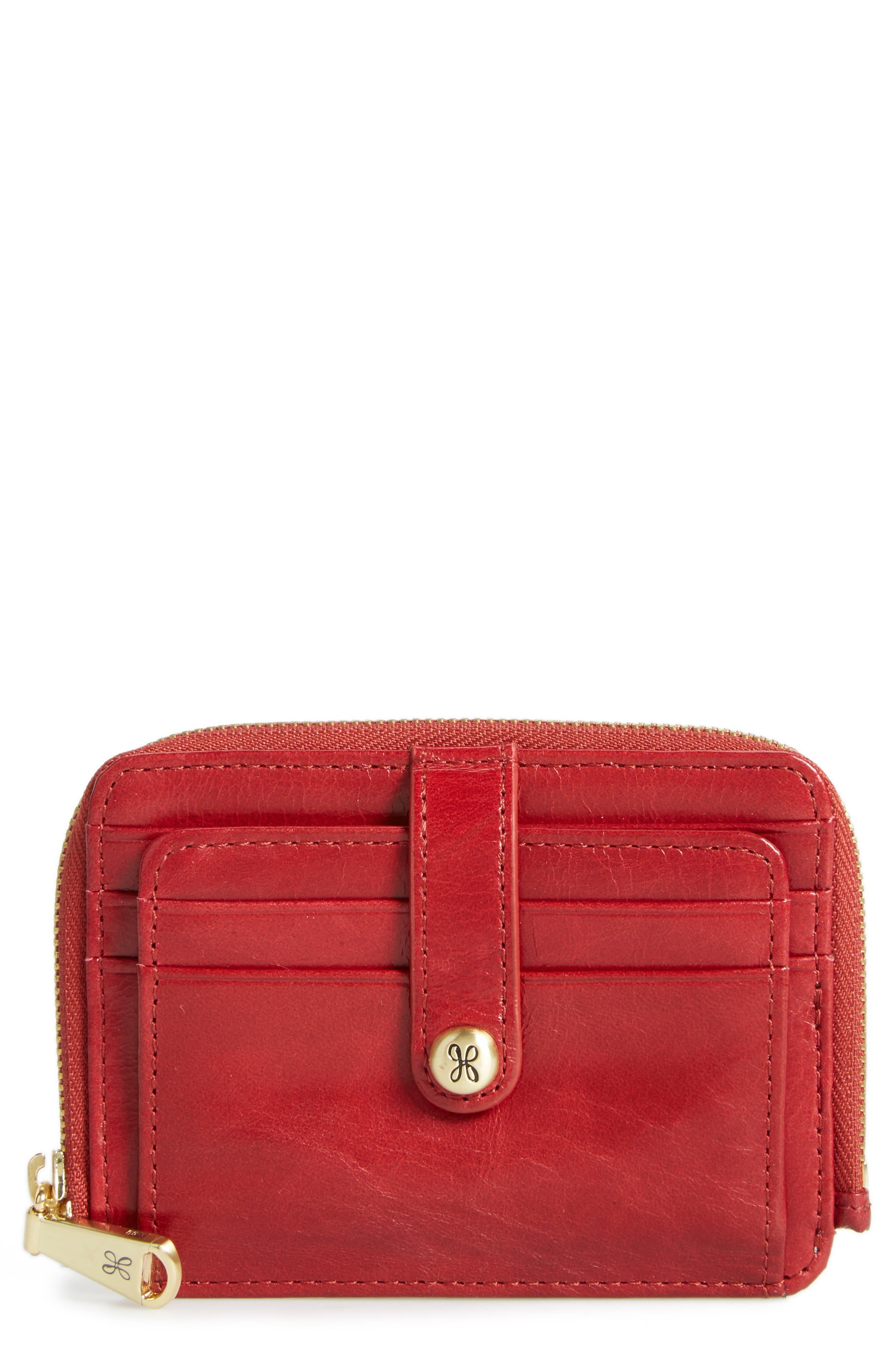 Hobo 'Katya' Leather Wallet