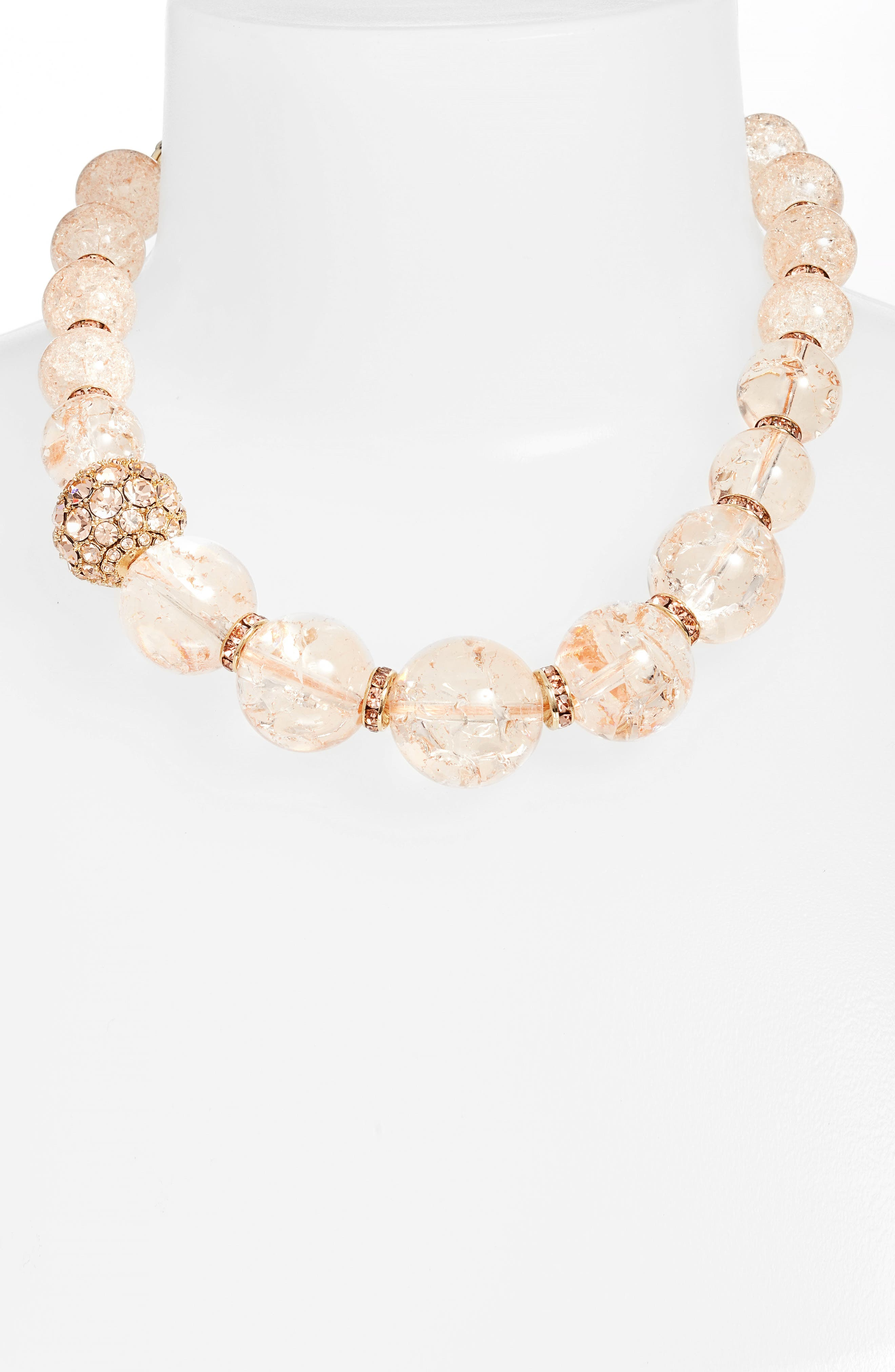 true colors collar necklace,                         Main,                         color, Neutral