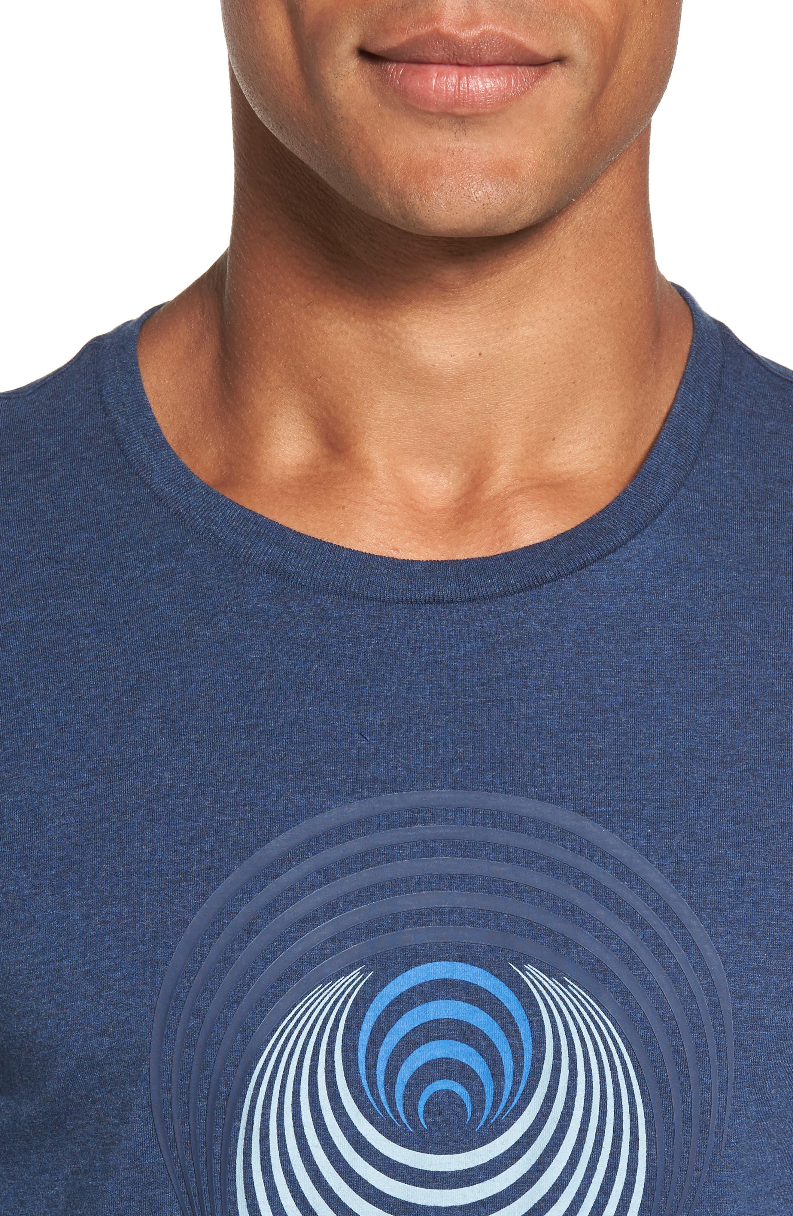 Optical Target T-Shirt,                             Alternate thumbnail 4, color,                             Blue