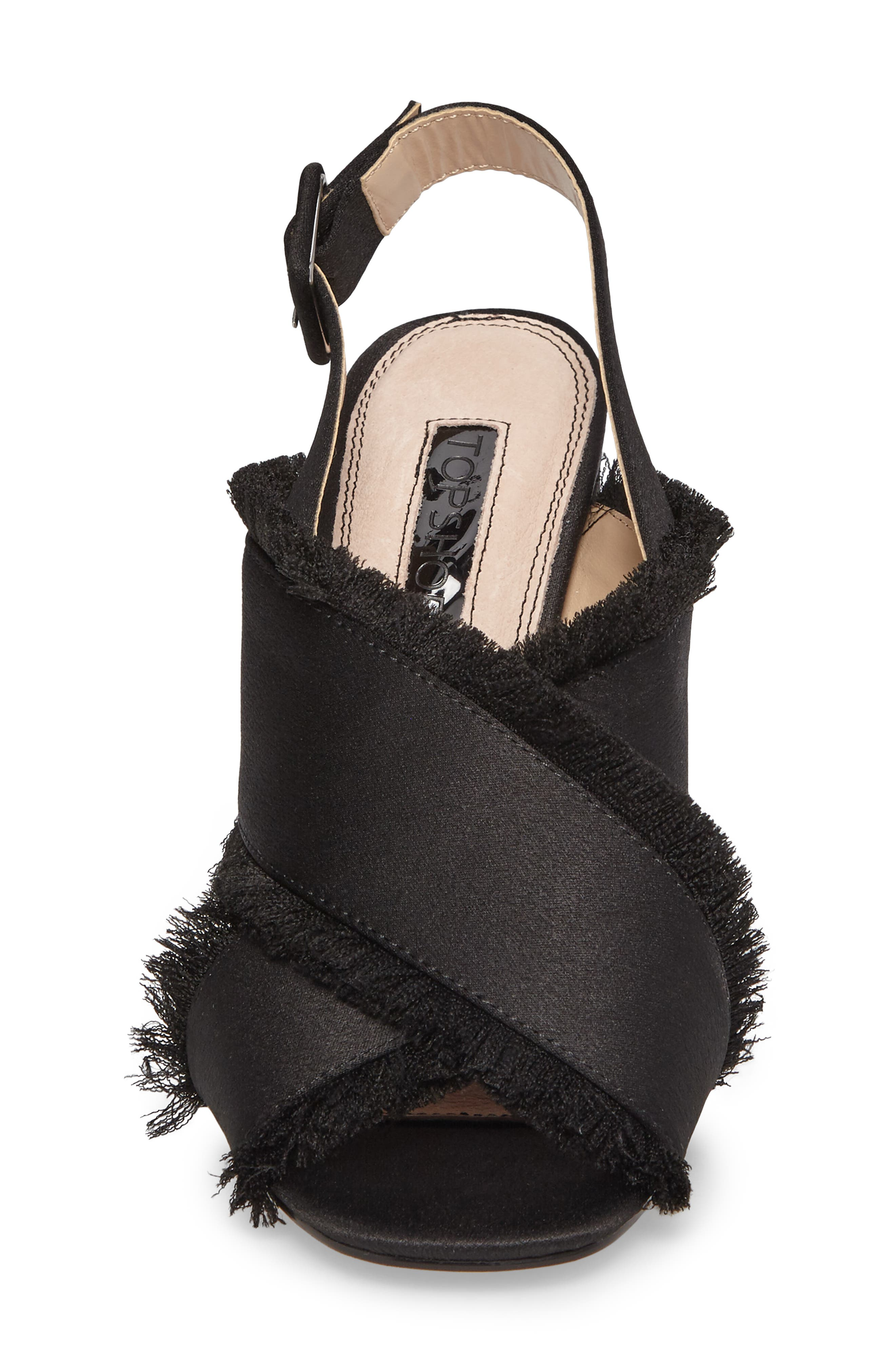 Alternate Image 5  - Topshop Reef Fringe Sandal (Women)