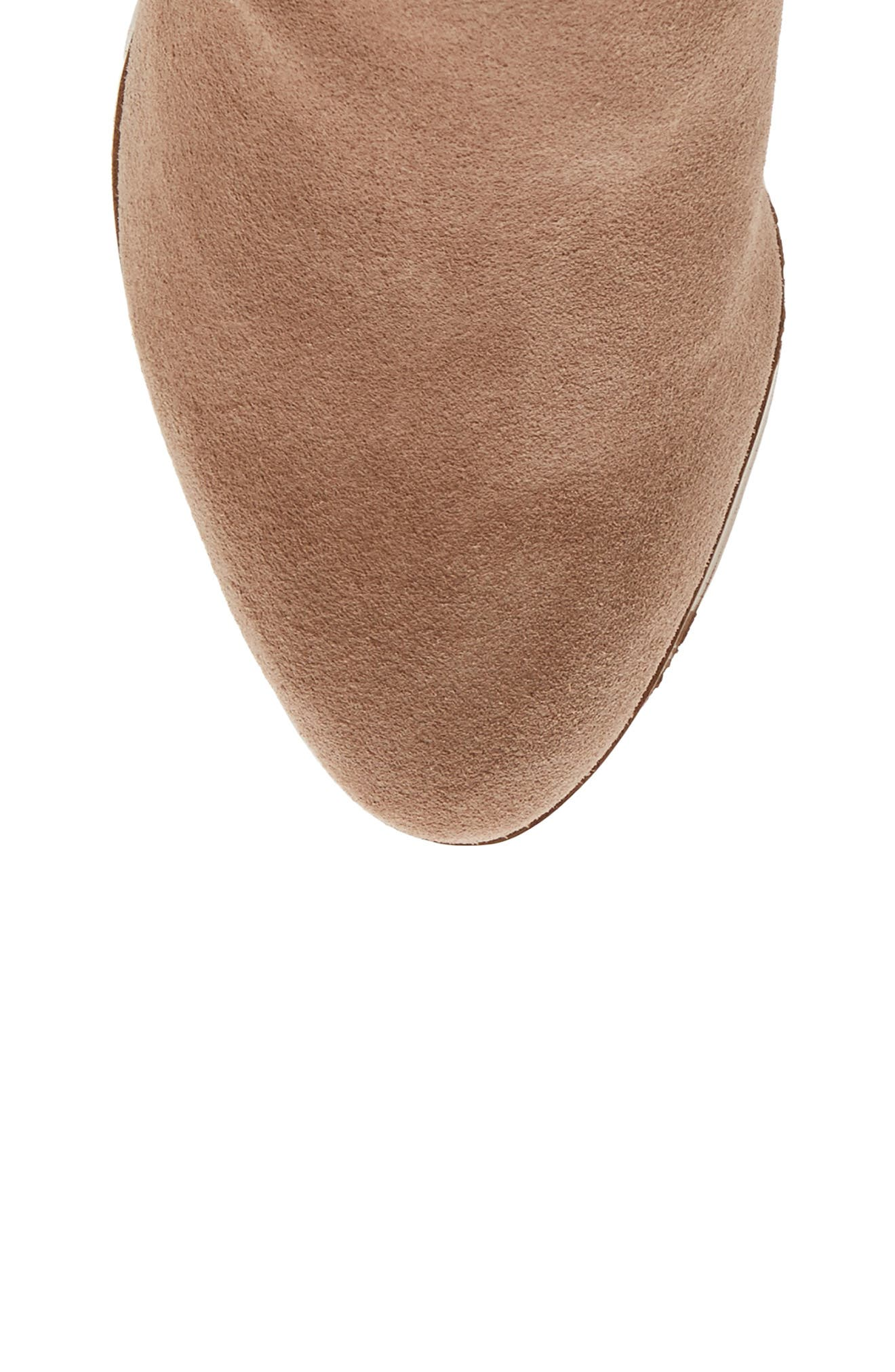 Melbourne Over the Knee Boot,                             Alternate thumbnail 5, color,                             Night Taupe Suede