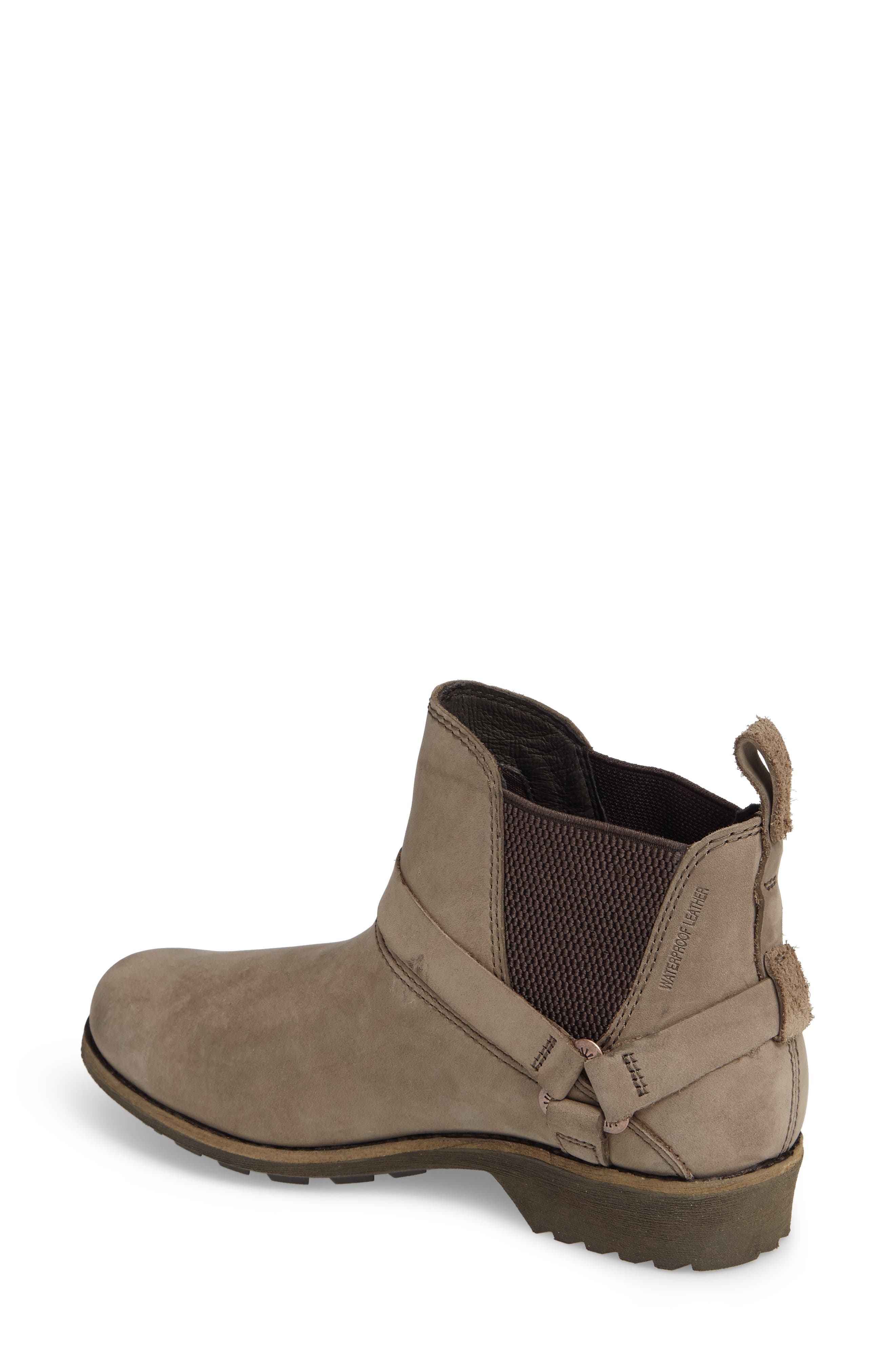 Dina La Vina Dos Waterproof Chelsea Boot,                             Alternate thumbnail 2, color,                             Bungee Cord Leather