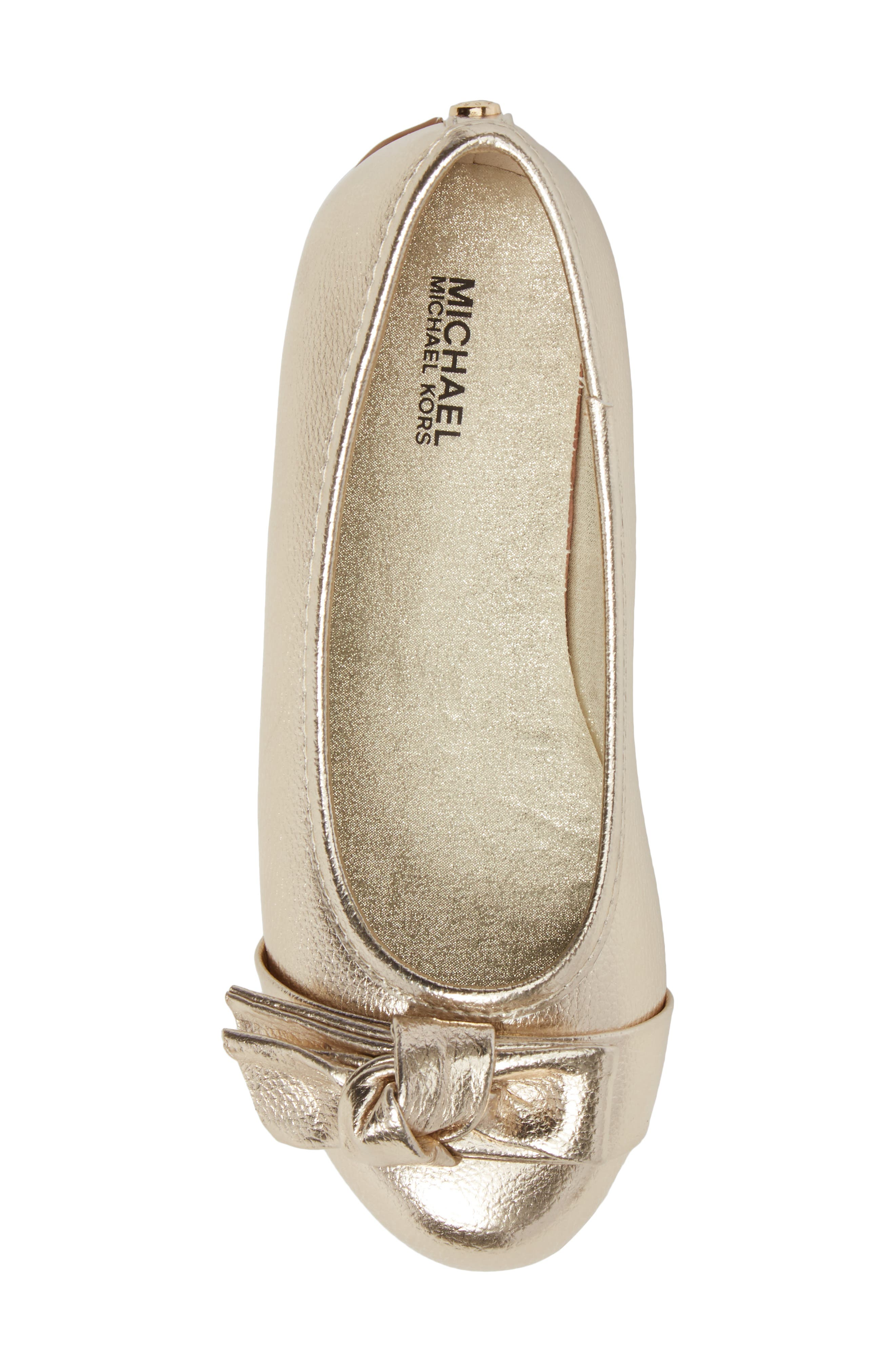 Rover Cora Ballet Flat,                             Alternate thumbnail 5, color,                             Gold