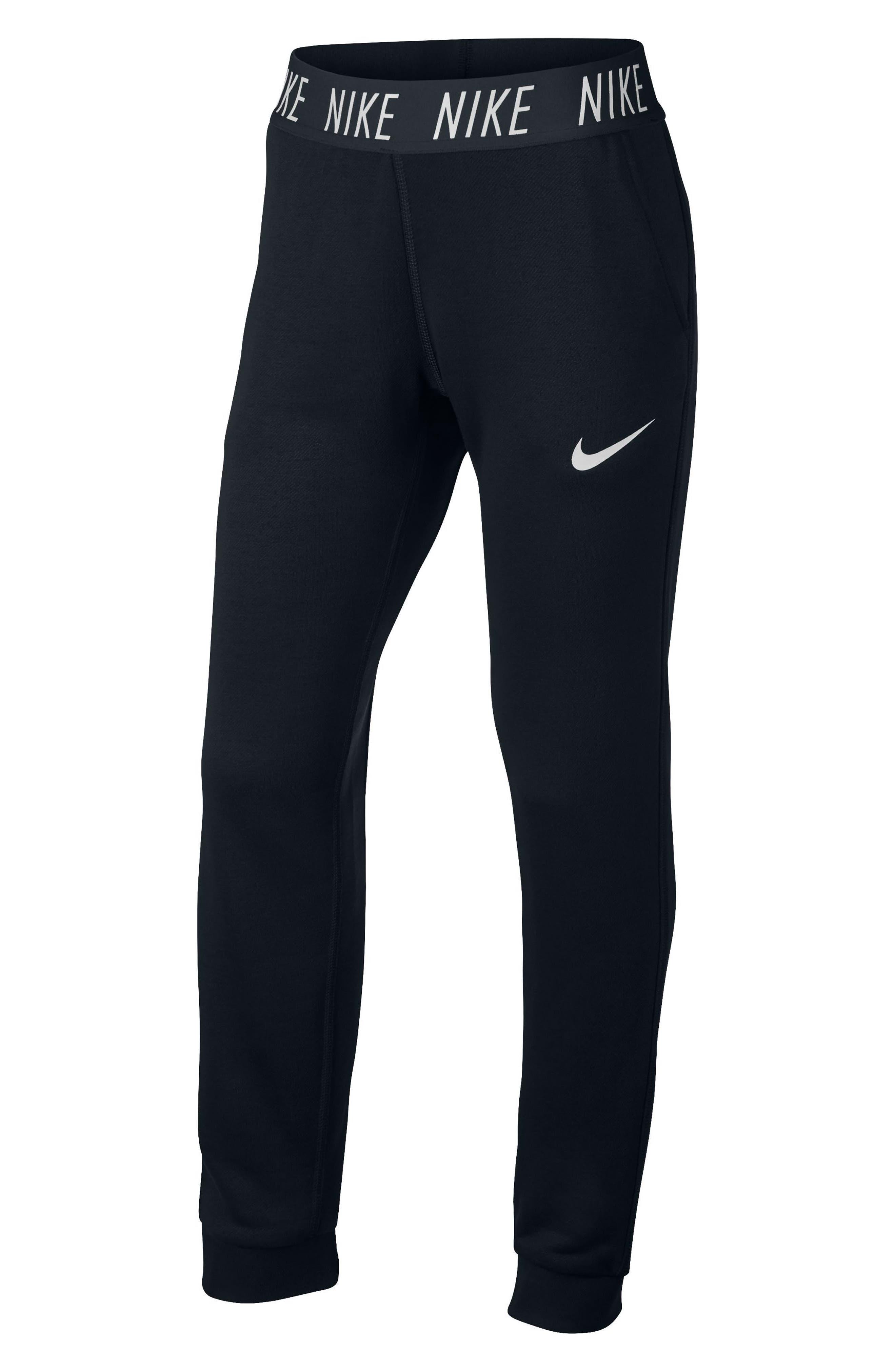 Alternate Image 5  - Nike Dry Core Studio Training Pants (Big Girls)
