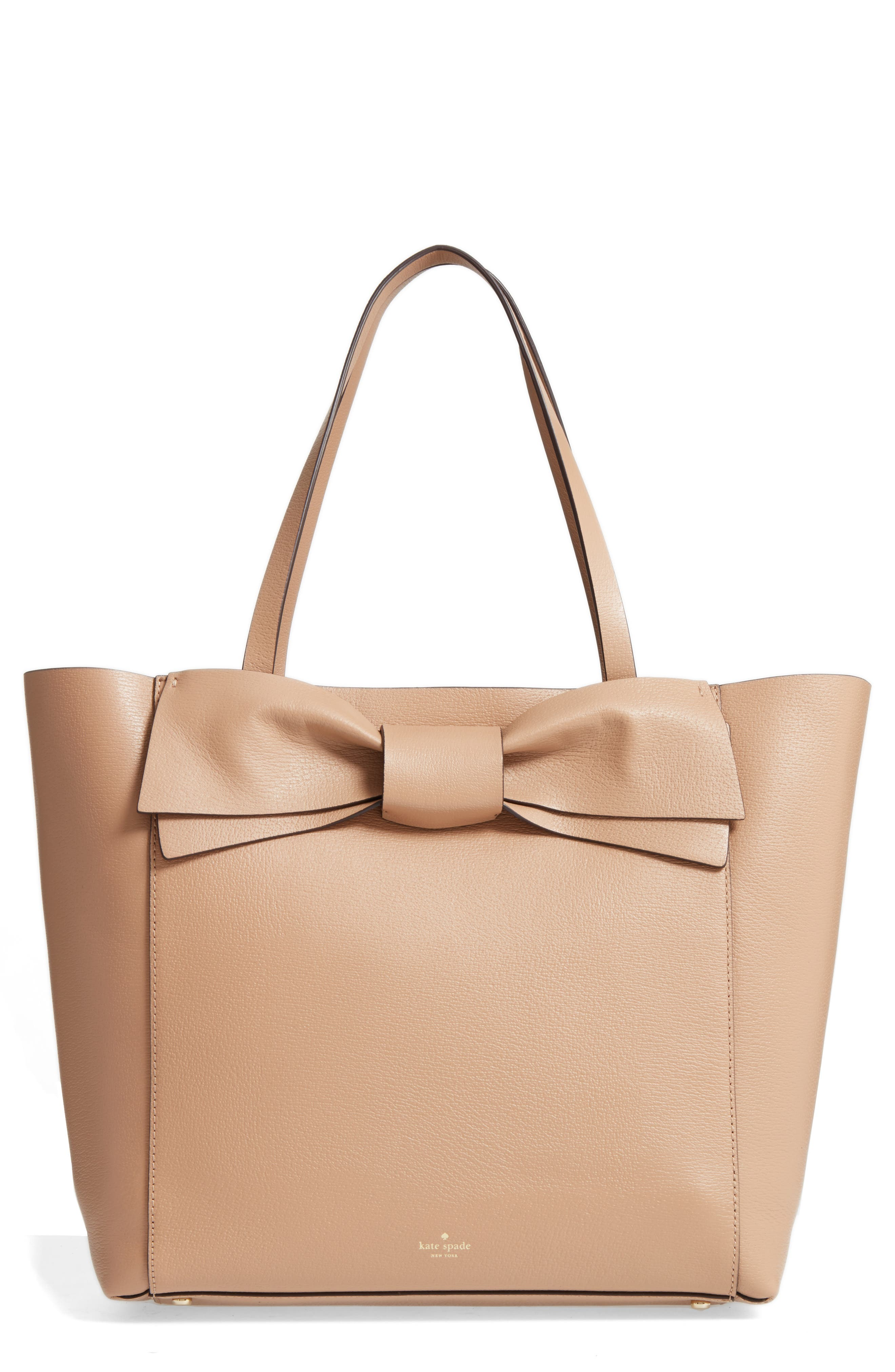 kate spade new york olive drive - savannah leather tote