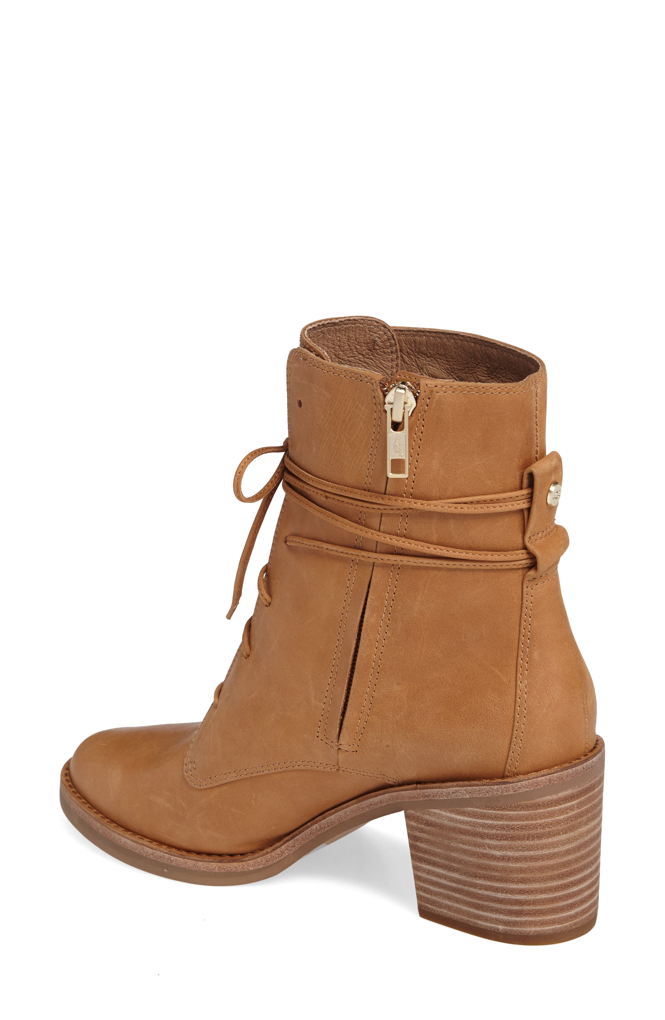 Alternate Image 2  - UGG® Oriana Lace-Up Boot (Women)