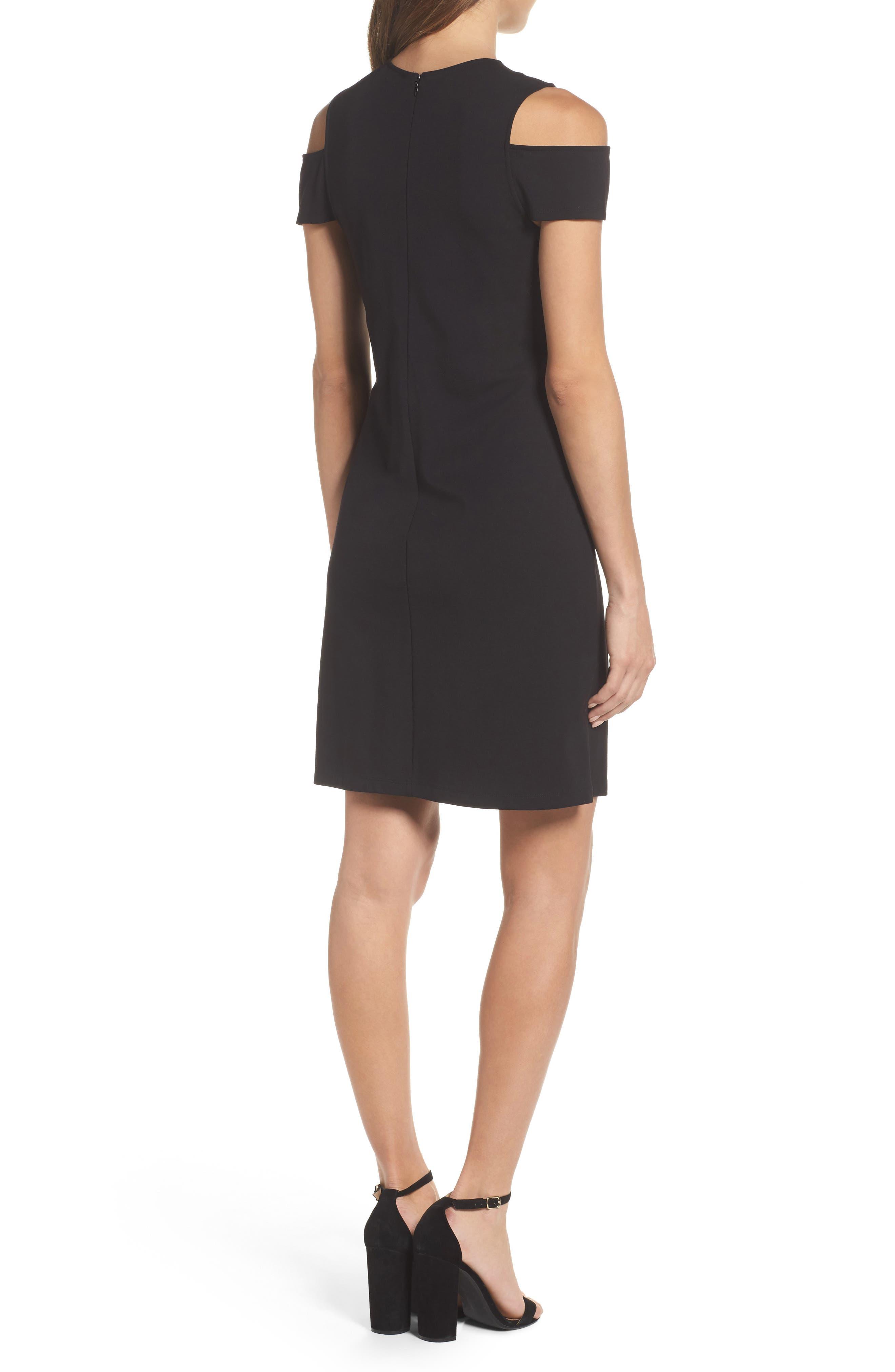 Alternate Image 2  - BB Dakota Cold Shoulder Sheath Dress