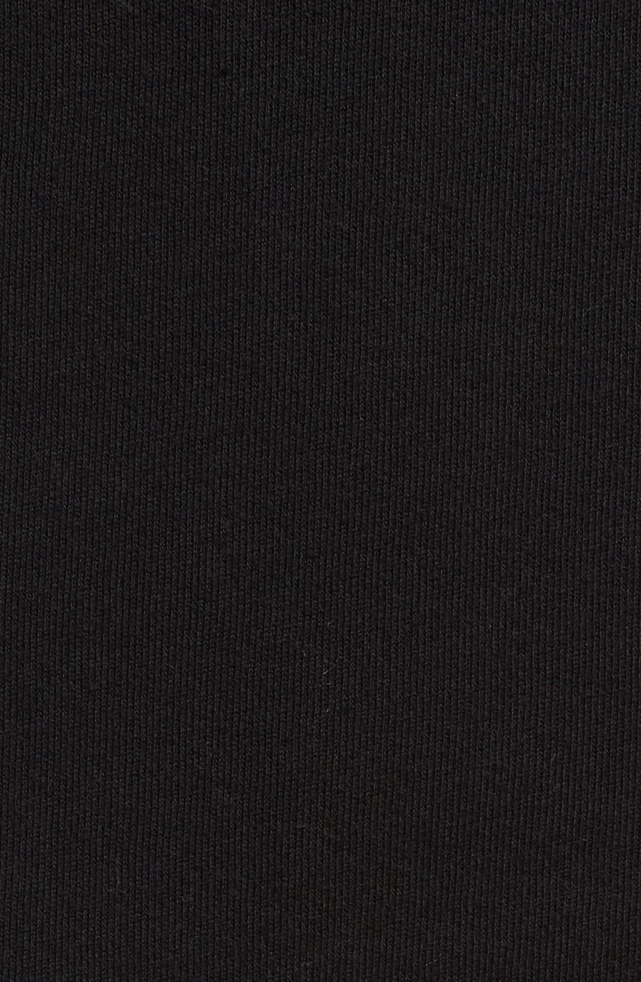 Alternate Image 5  - Socialite Cutout Sleeve Hoodie Dress