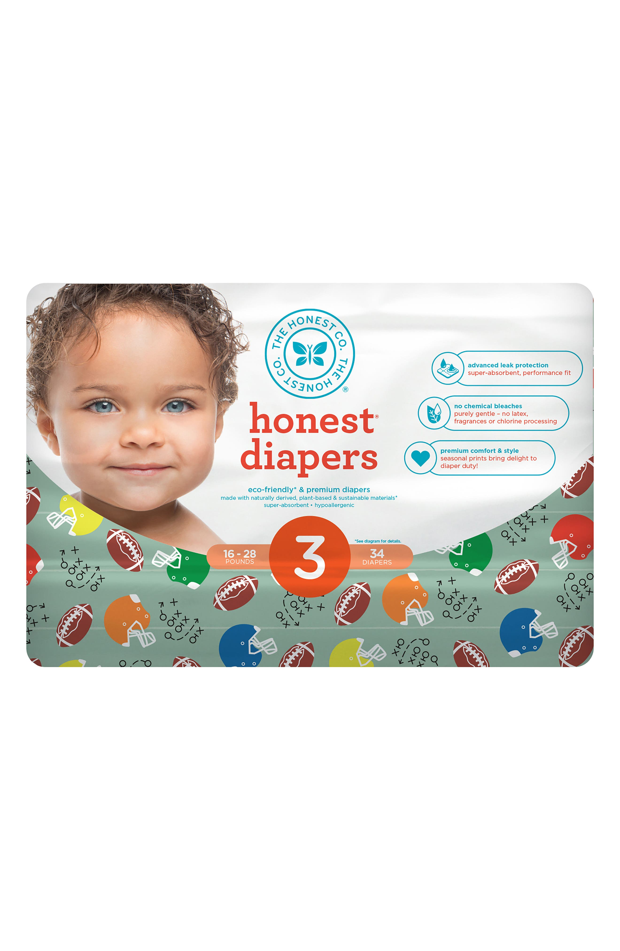 Alternate Image 2  - The Honest Company Patterned Diapers