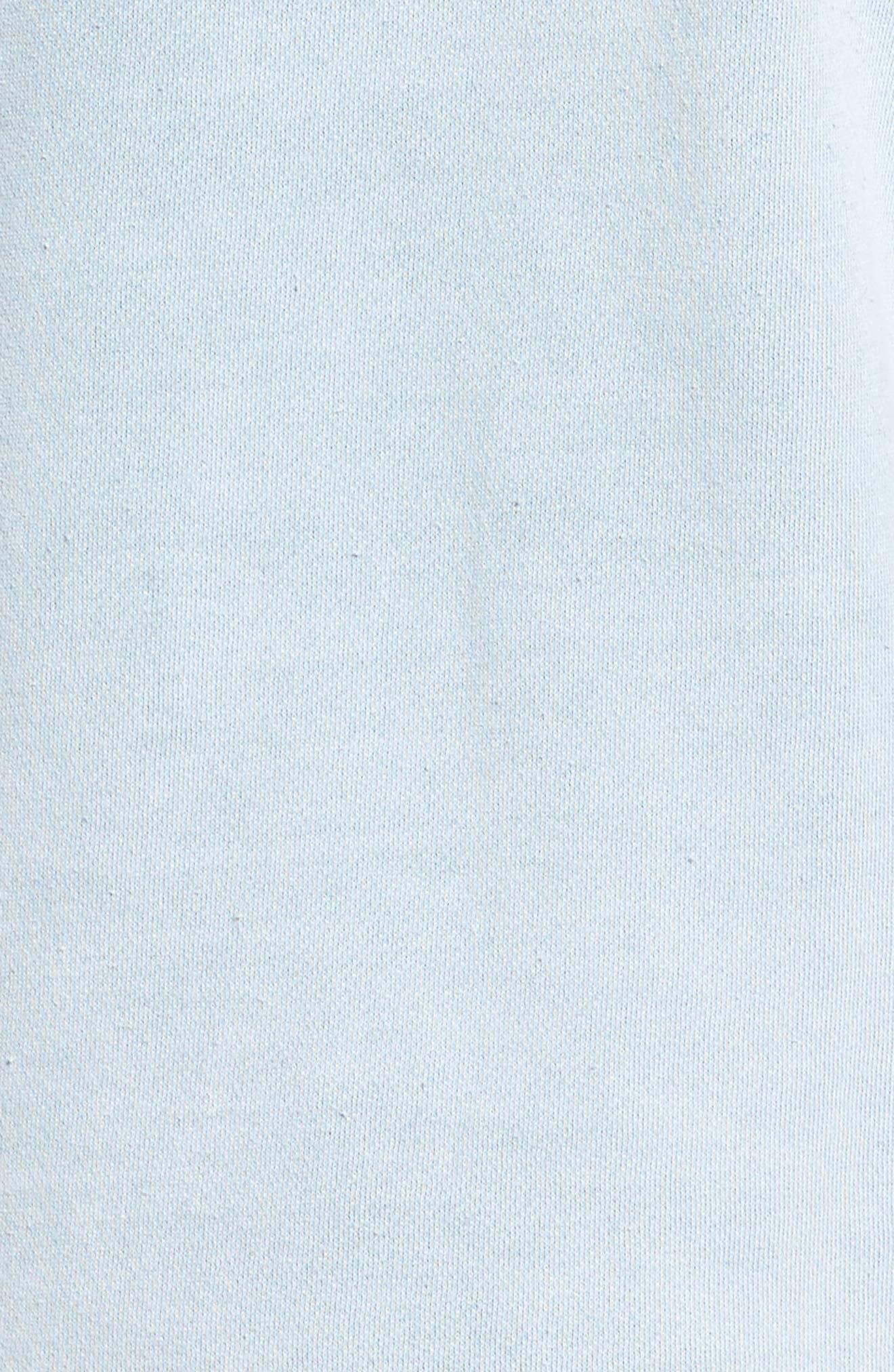 Alternate Image 5  - RVCA Seven Stripe Fleece Hoodie