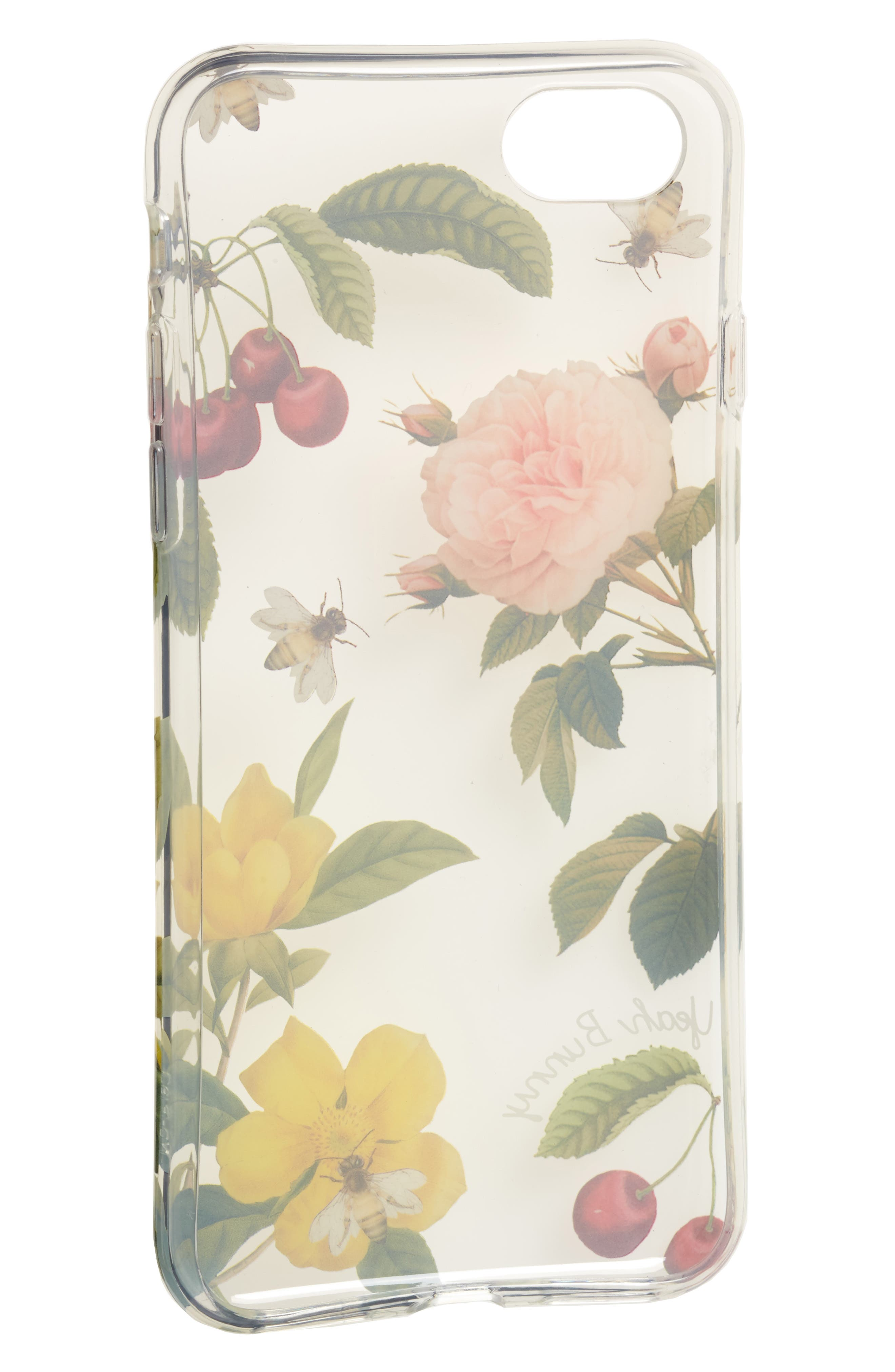 Alternate Image 2  - Yeah Bunny Cherry Blossom iPhone 7 Case