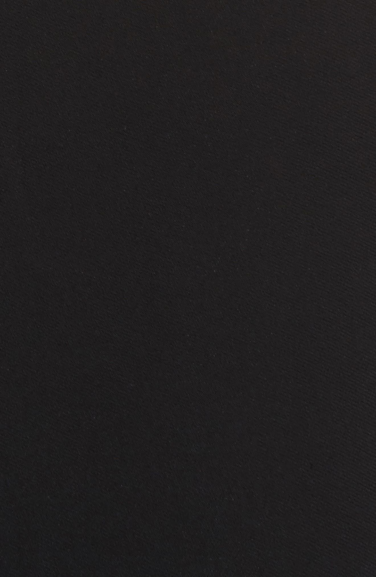 Miriam Sheath Dress,                             Alternate thumbnail 6, color,                             Black