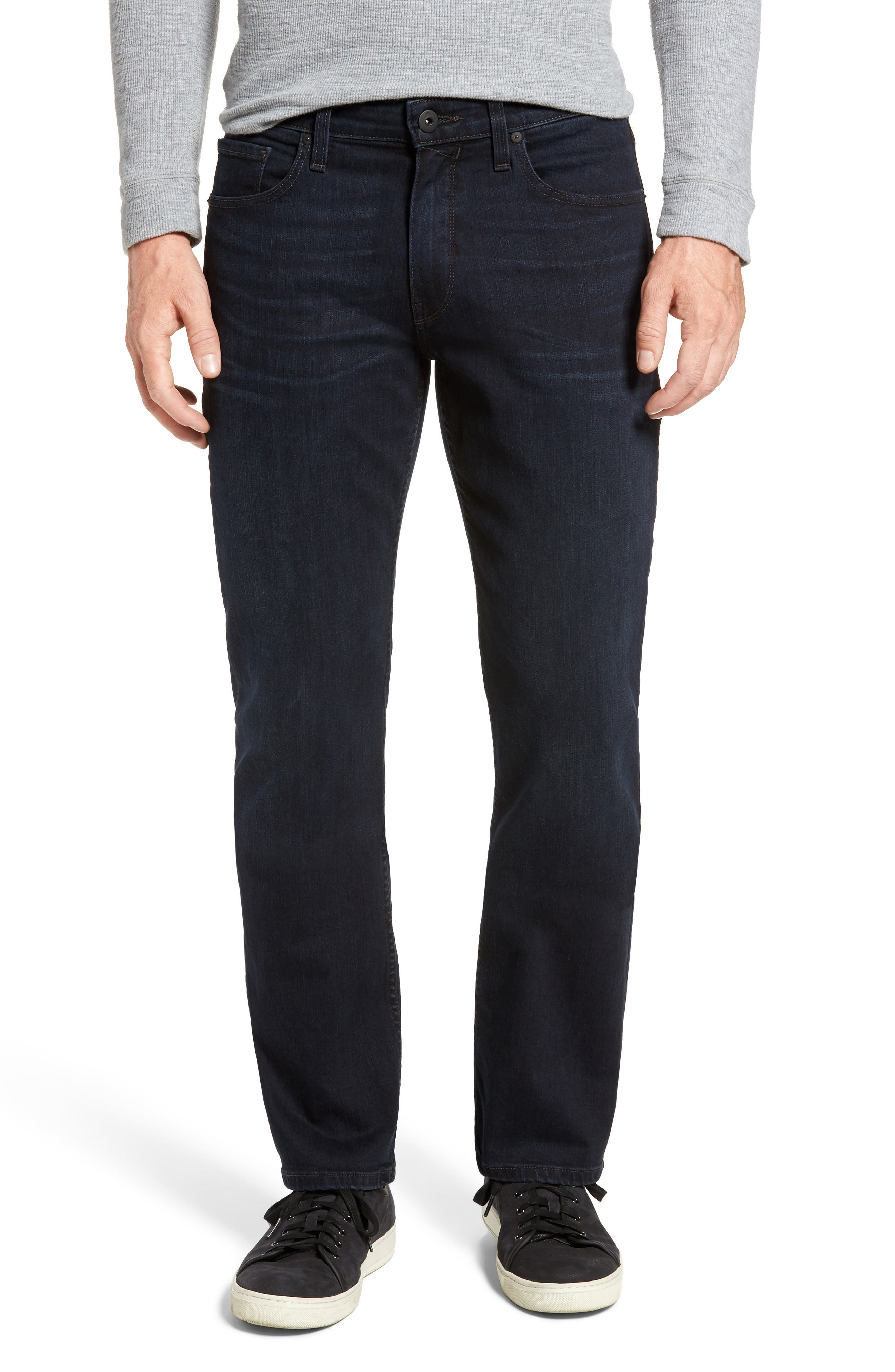 PAIGE Doheny Relaxed Straight Leg Jeans (Murrary)