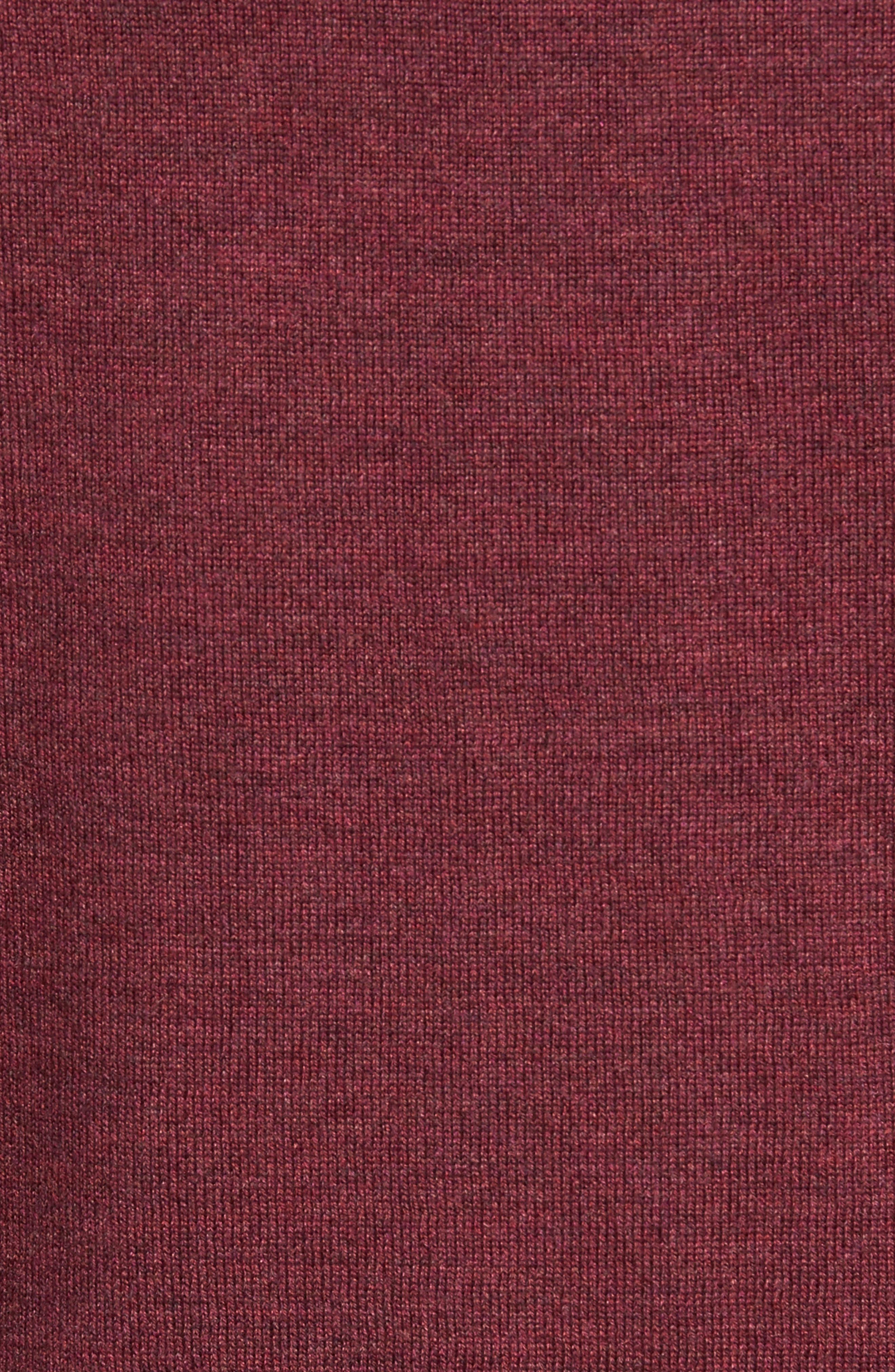 Alternate Image 6  - Peter Millar Crown Soft Merino Blend Quarter Zip Sweater