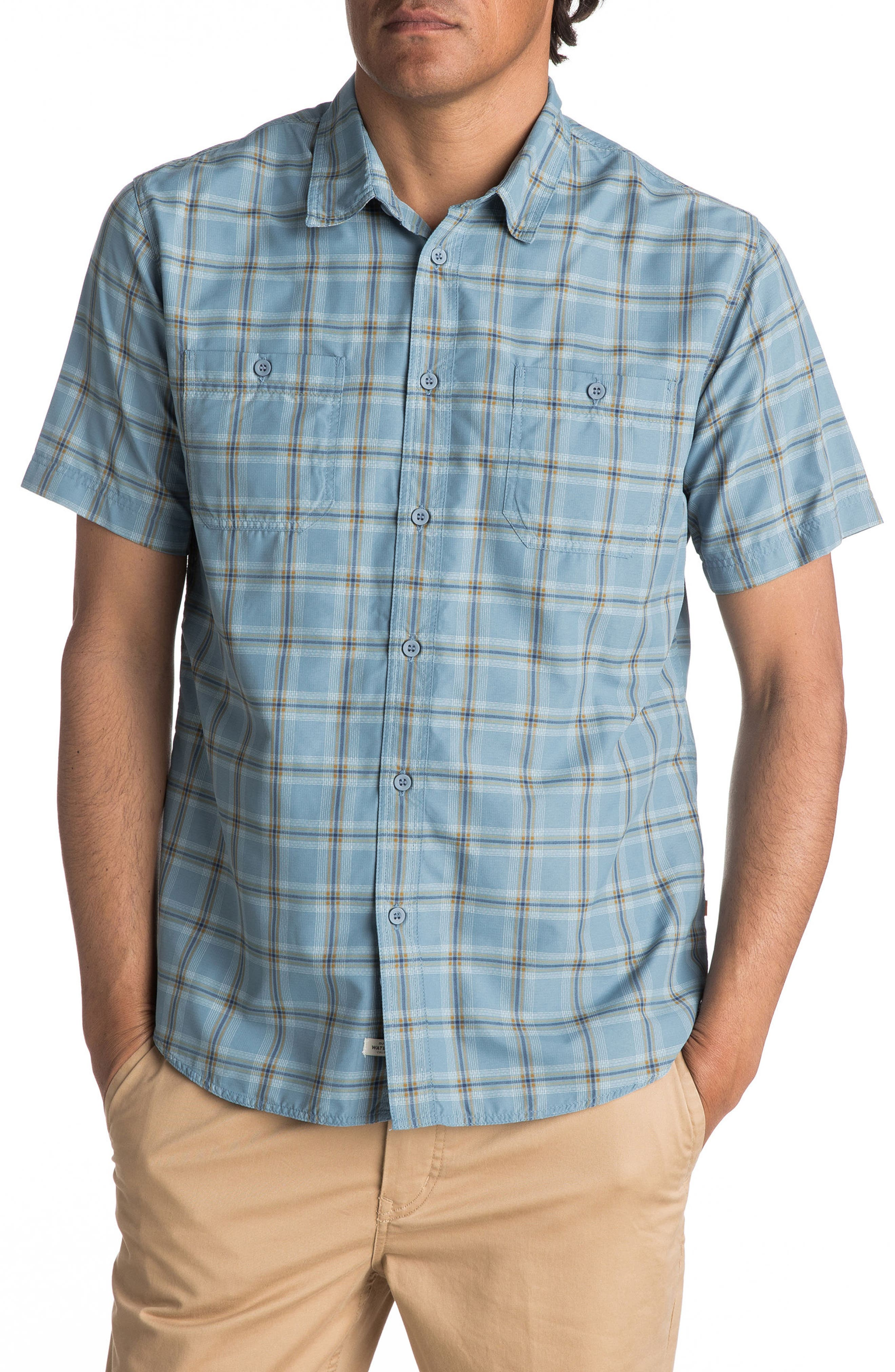 Alternate Image 1 Selected - Quiksilver Waterman Collection Wake Sport Shirt