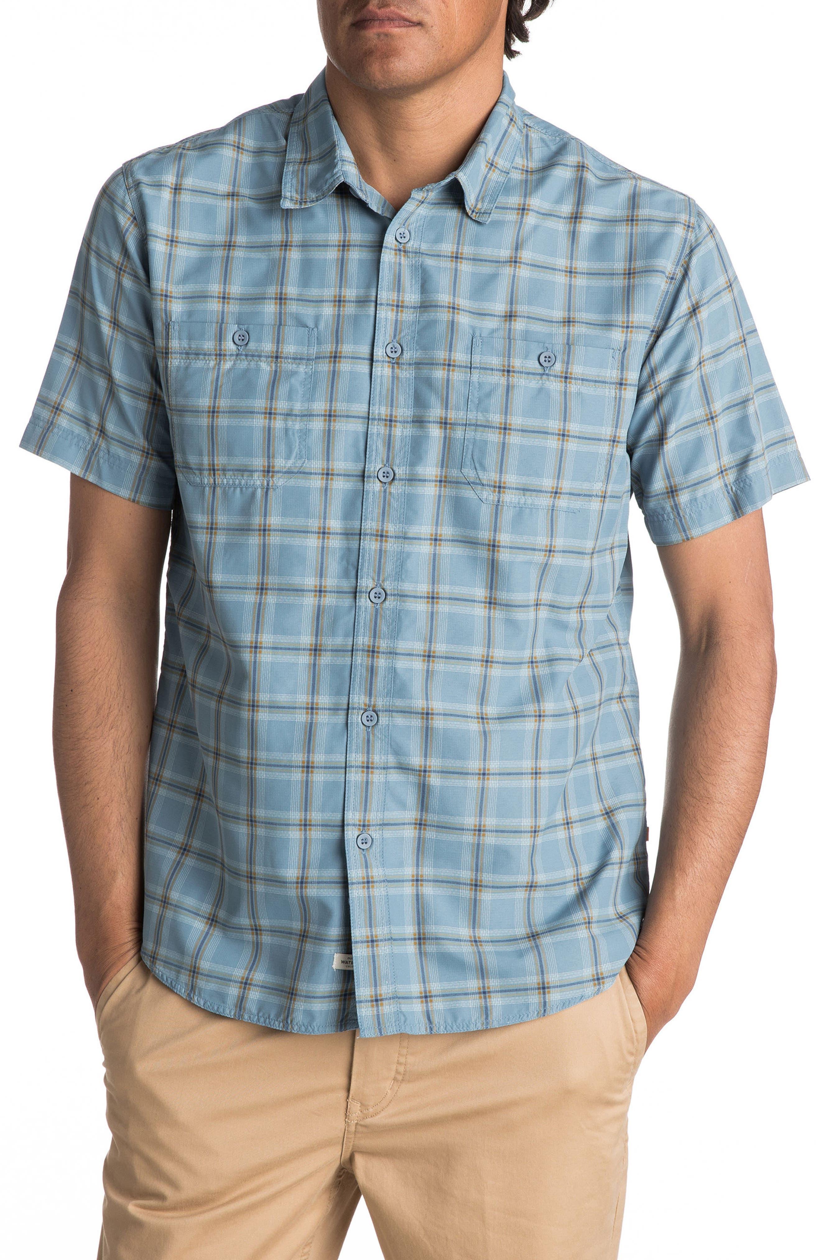 Main Image - Quiksilver Waterman Collection Wake Sport Shirt
