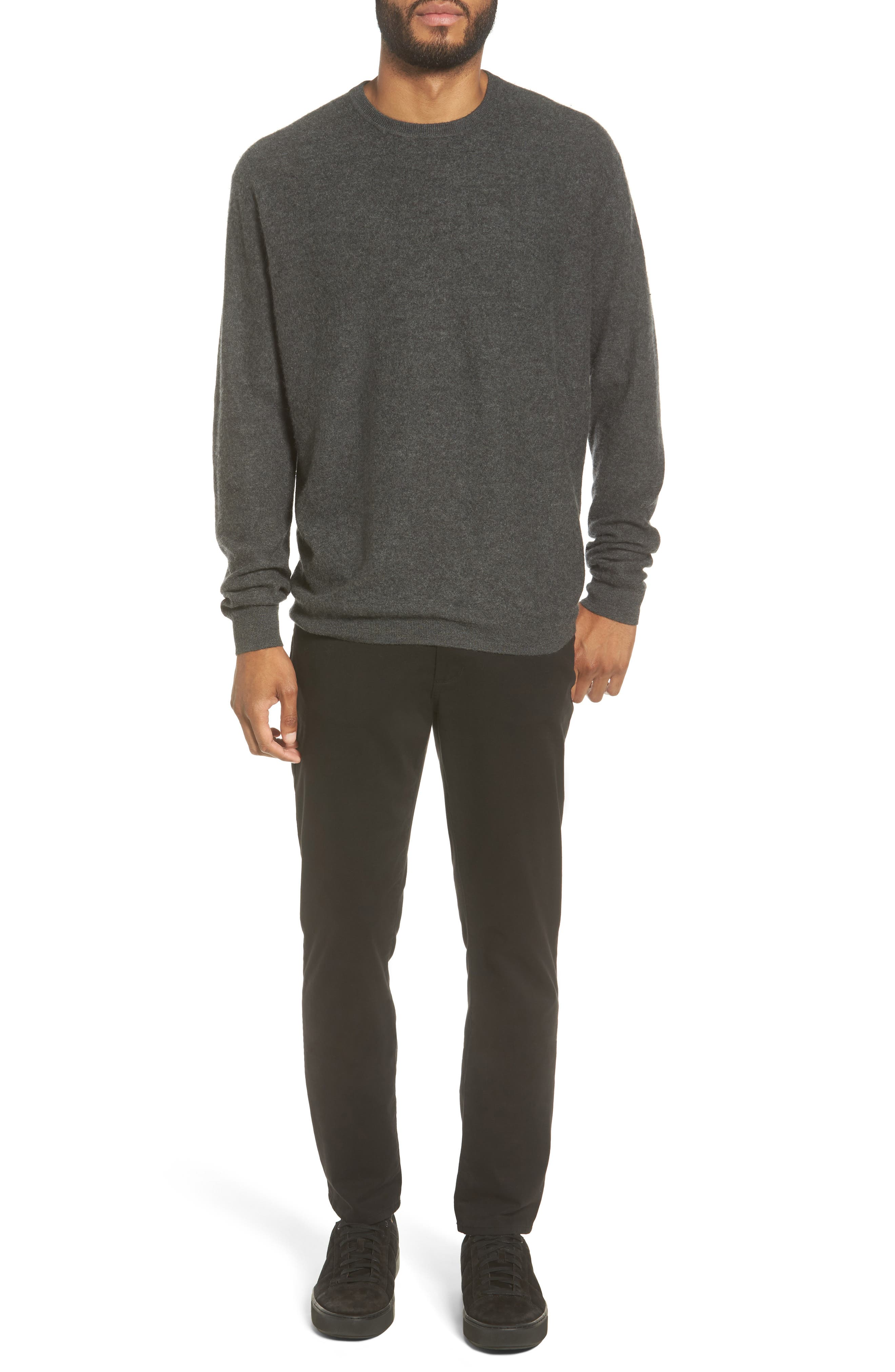 Alternate Image 2  - Vince Cashmere Crewneck Sweater