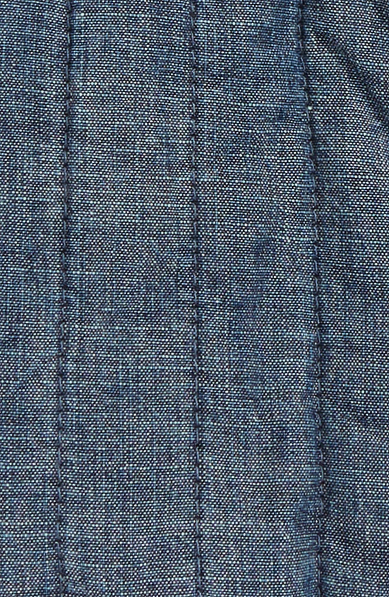 Citizen Chambray Vest,                             Alternate thumbnail 2, color,                             Blue Chambray