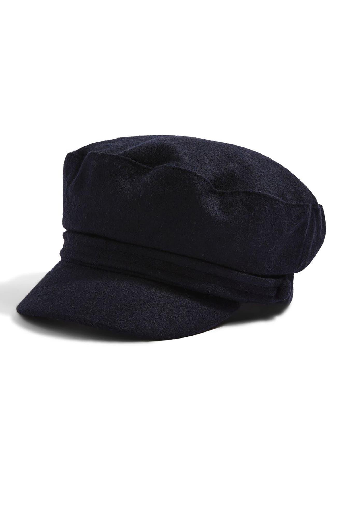 Alternate Image 1 Selected - Topshop Baker Boy Cap