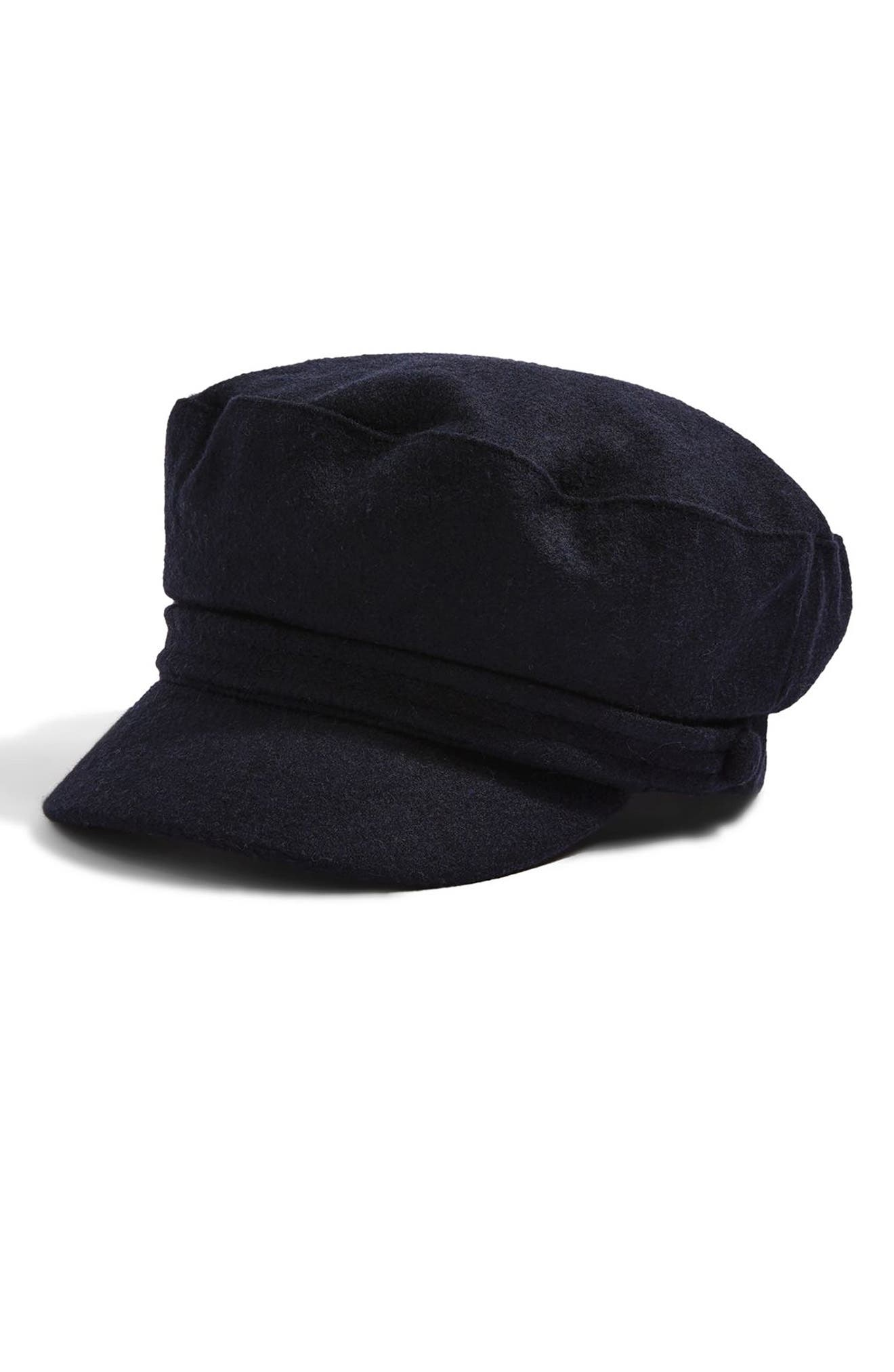 Main Image - Topshop Baker Boy Cap