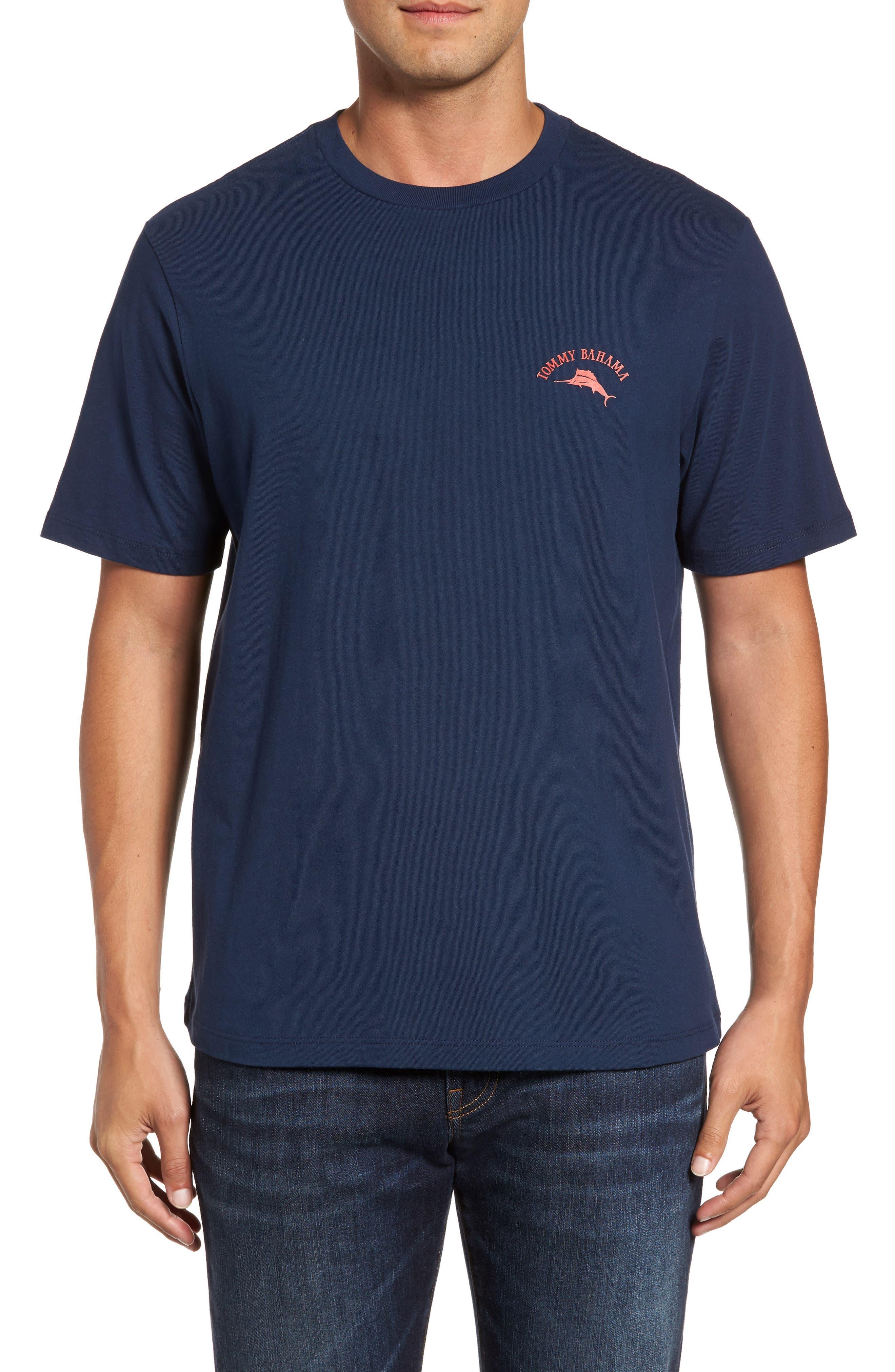 Alternate Image 2  - Tommy Bahama Big Boats Standard Fit T-Shirt