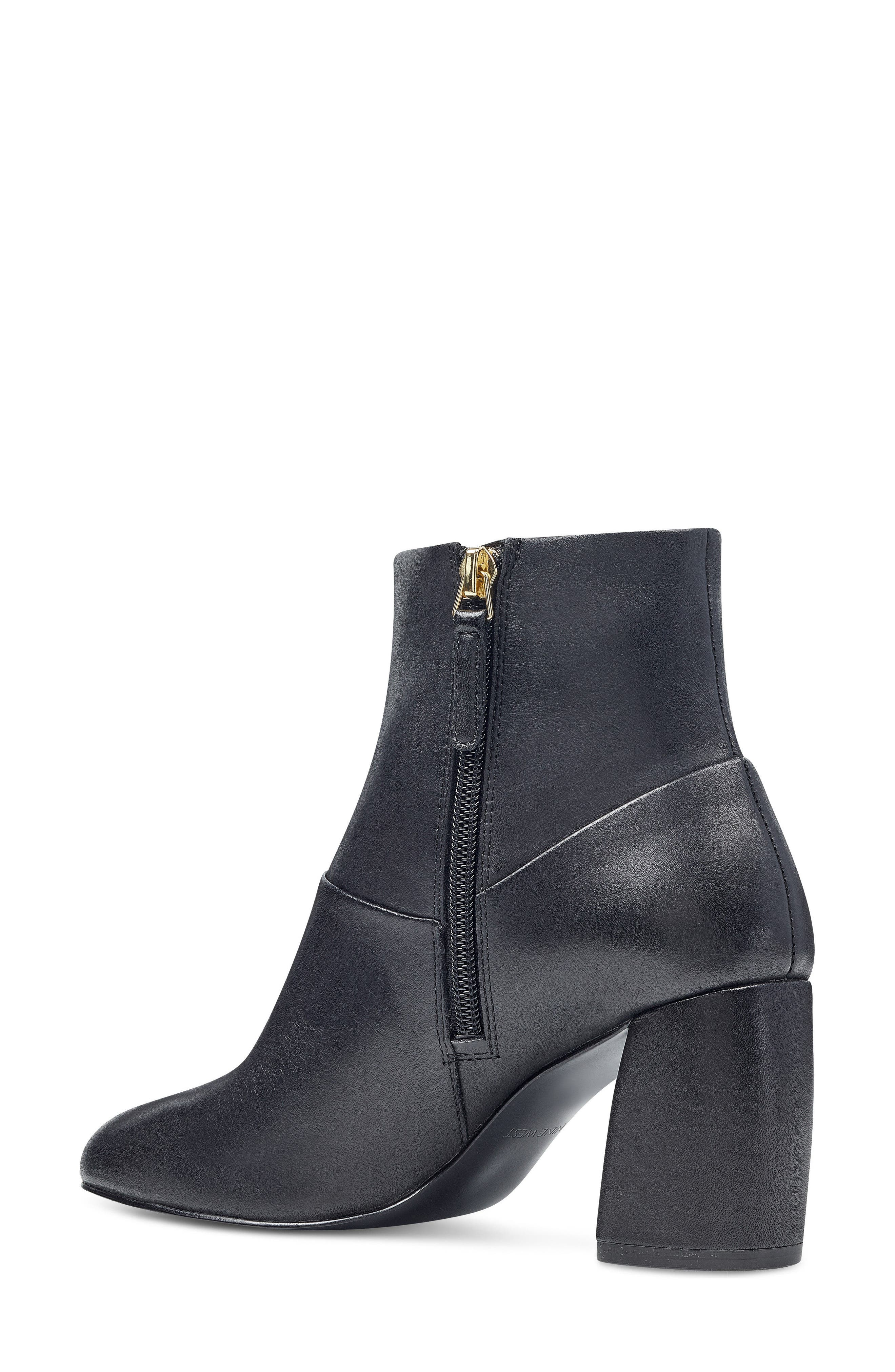 Kirtley Bootie,                             Alternate thumbnail 2, color,                             Black Leather