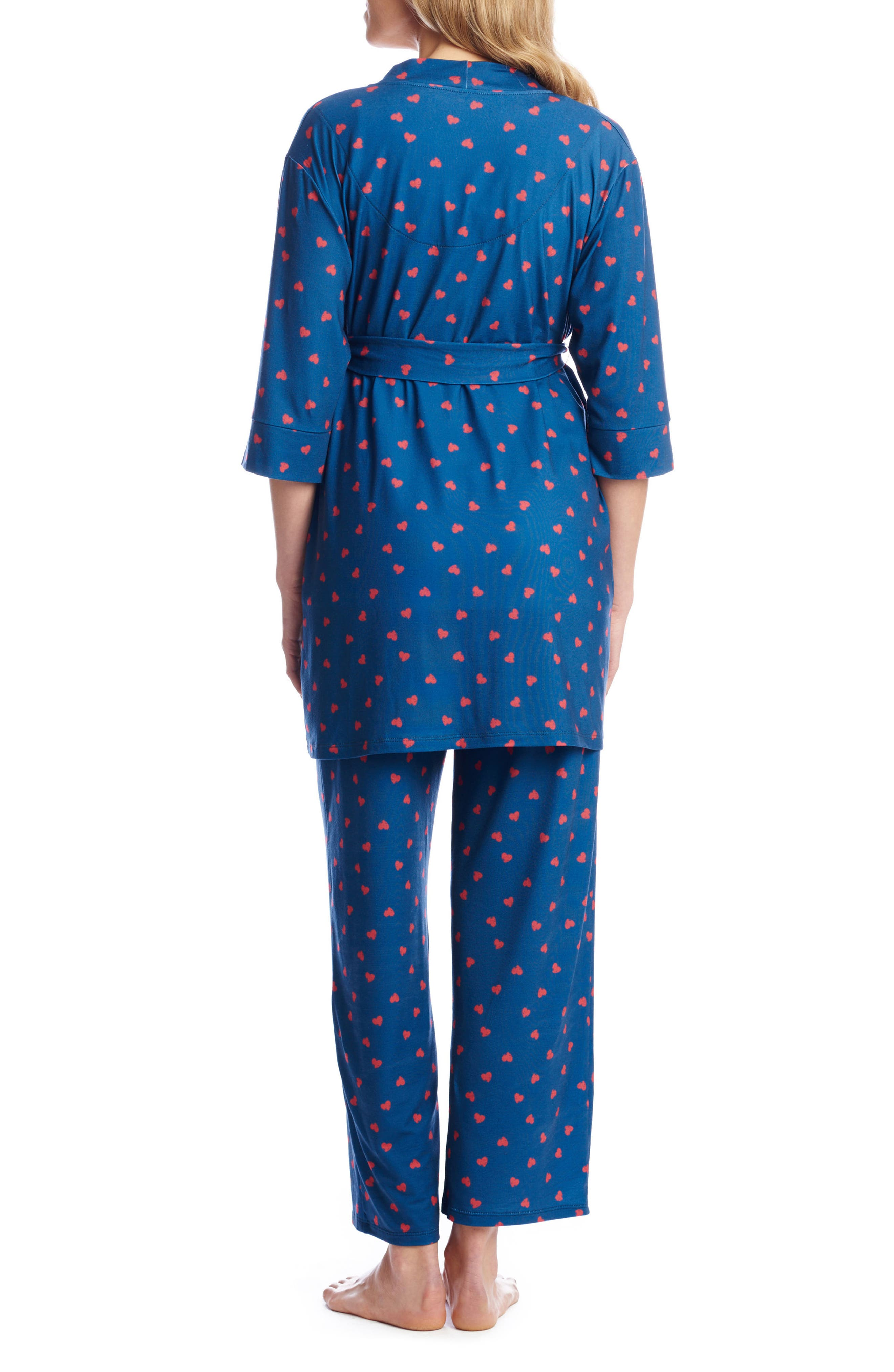 Alternate Image 3  - Everly Grey Roxanne - During & After 5-Piece Maternity Sleepwear Set