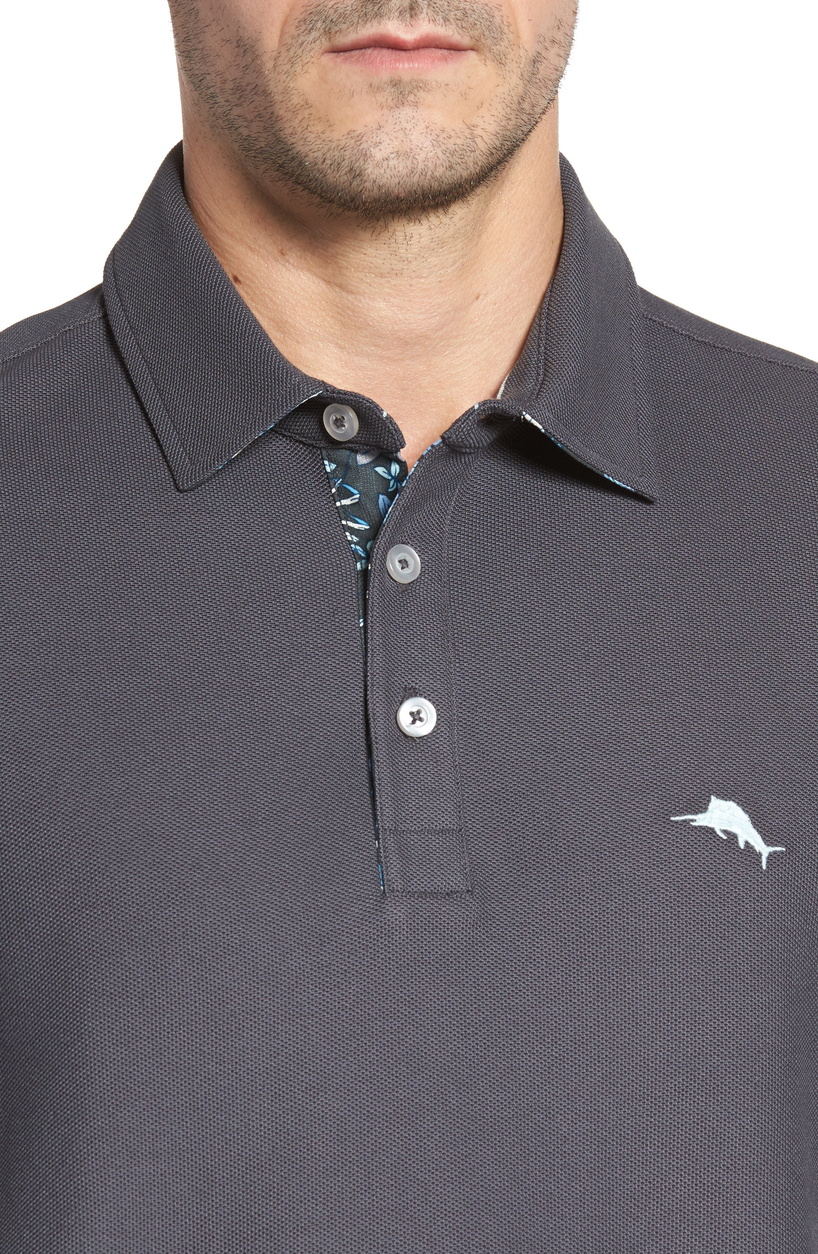 Alternate Image 4  - Tommy Bahama Limited Edition Five OClock Piqué Polo