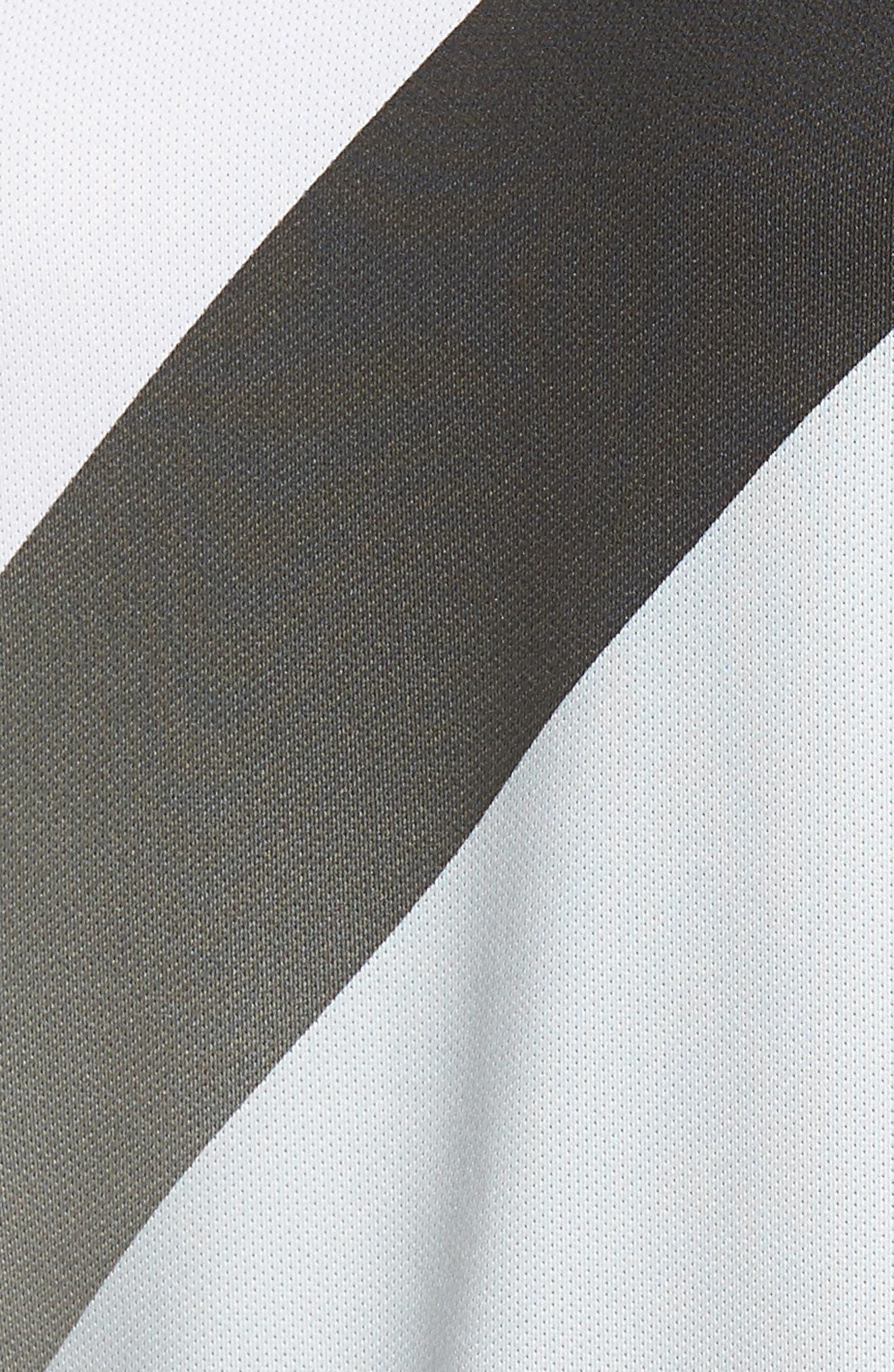 Dry Golf Polo,                             Alternate thumbnail 5, color,                             White/ Platinum/ Black/ Black