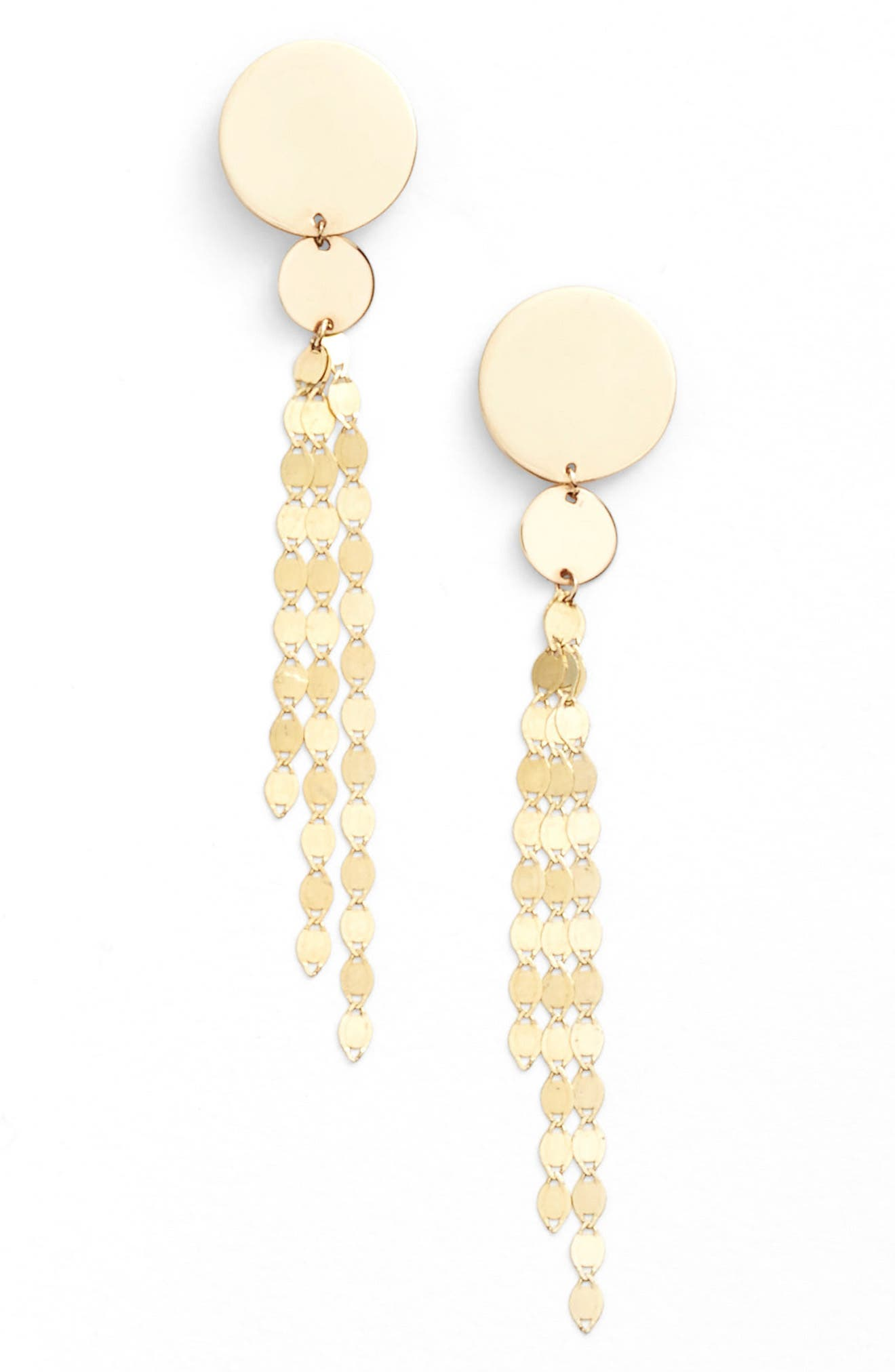 Lana Jewelry Disc Drop Earrings